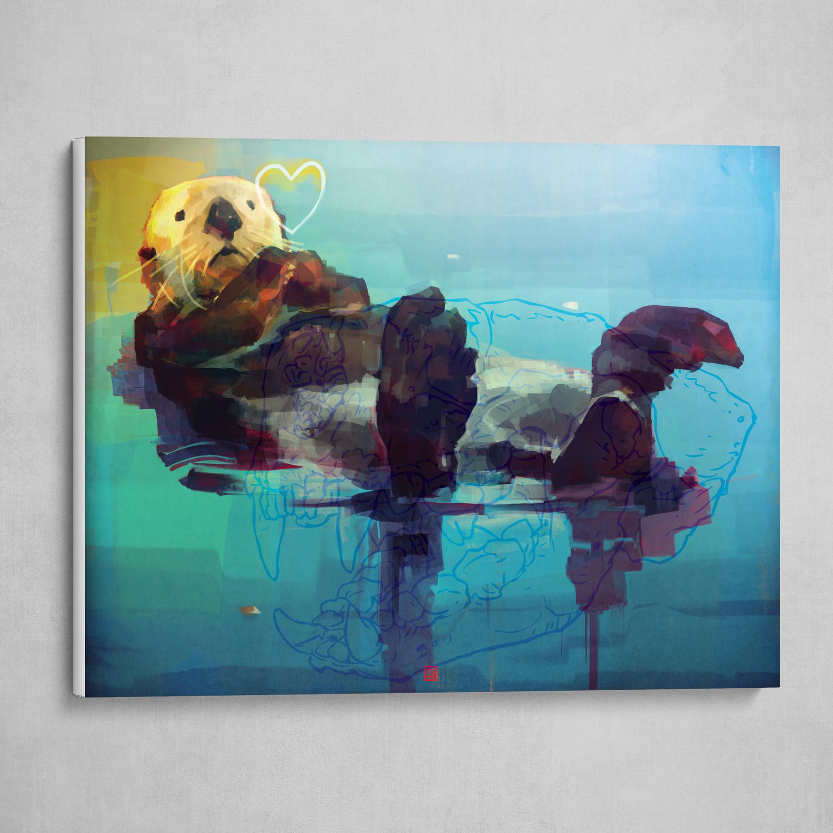 Sea Otter Luv'