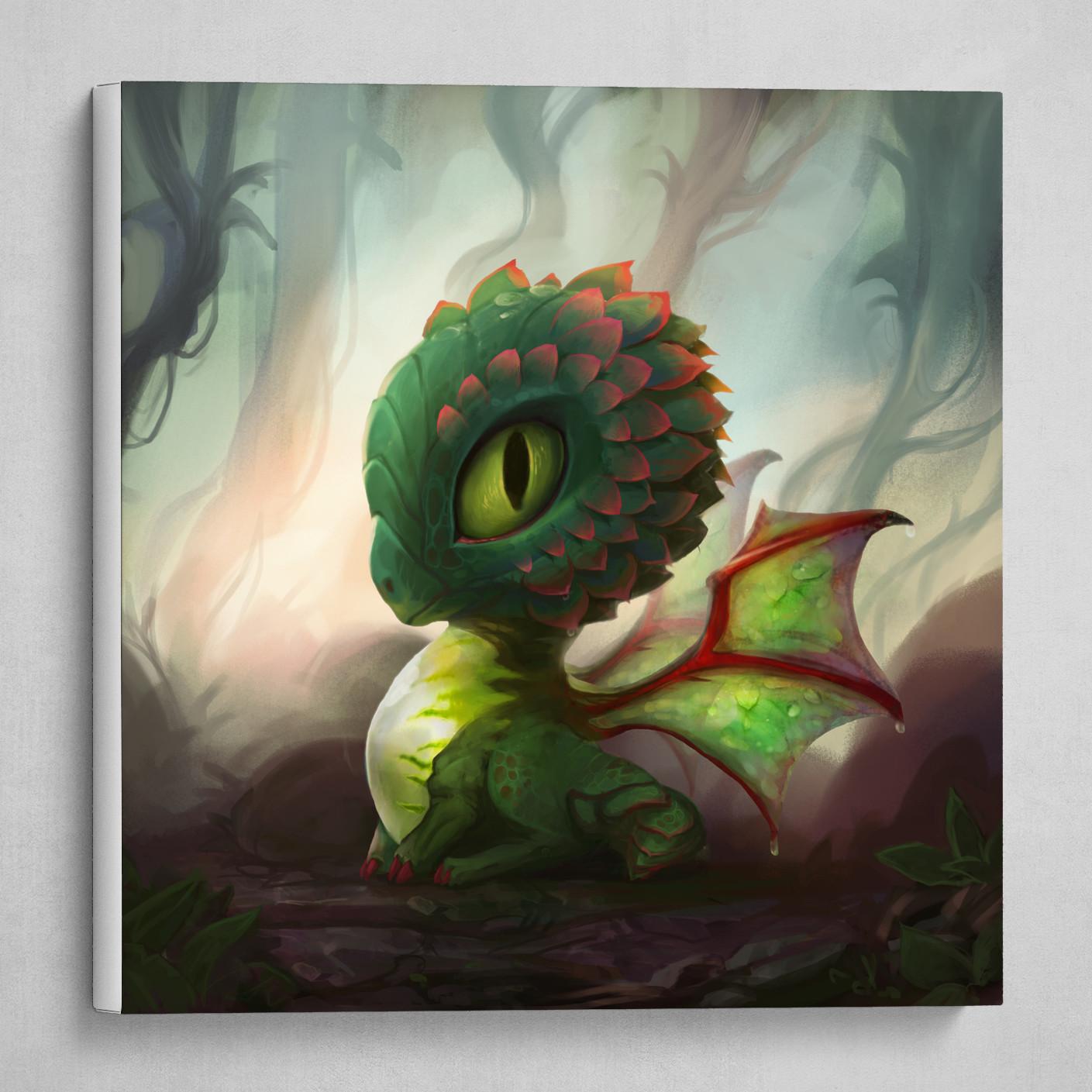 Succulent Dragon Creature Baby