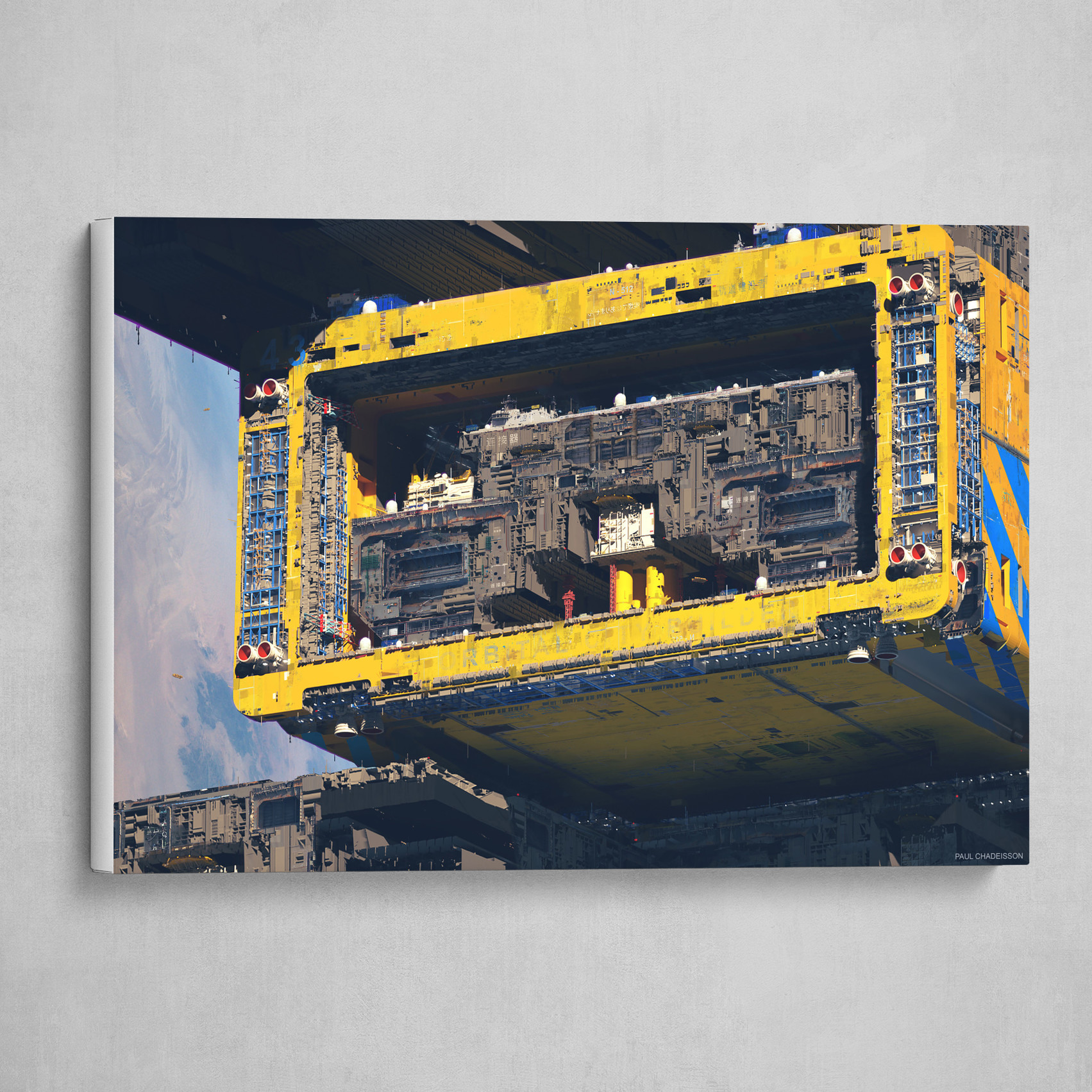 OFF WORLD   Orbital city builder