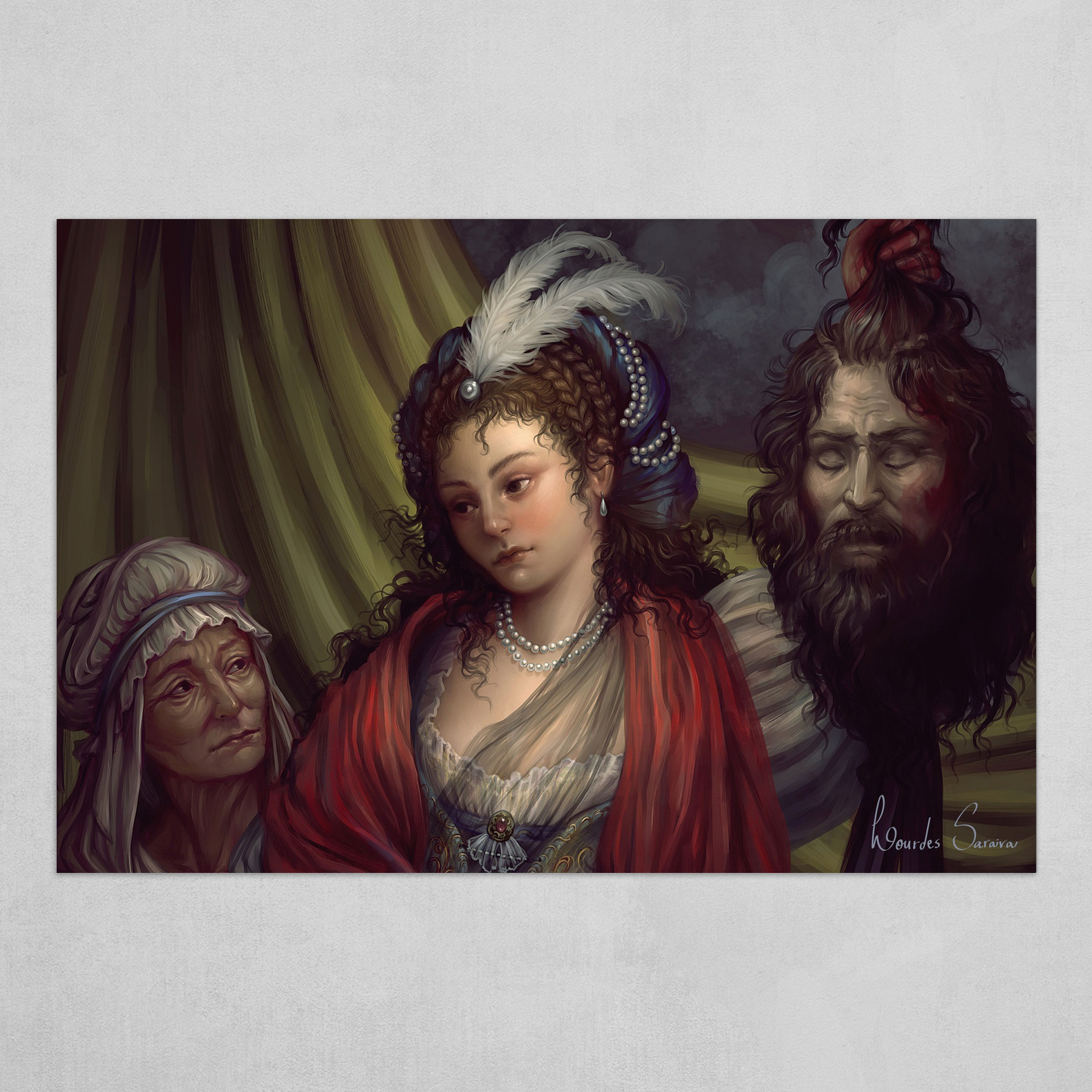 Judith (detail)