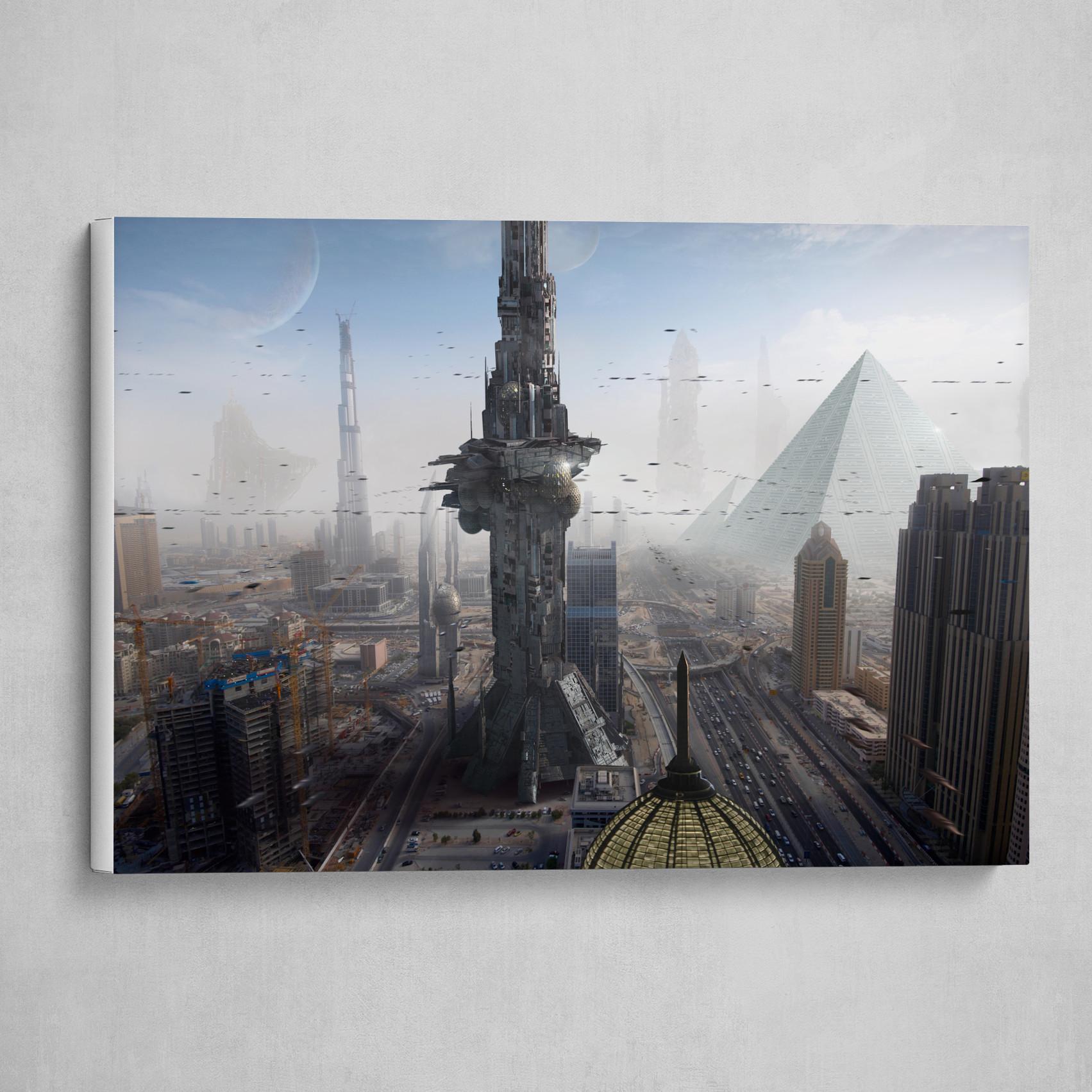 Sci Fi City