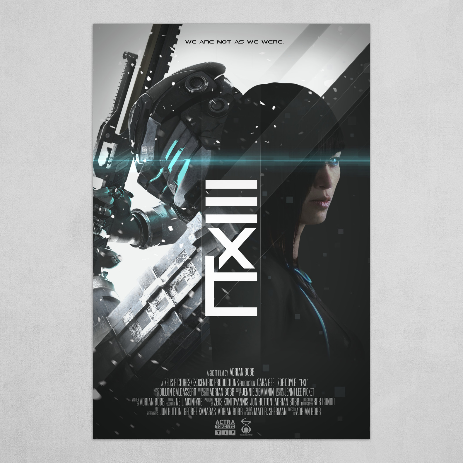 EXT Film Canvas Poster