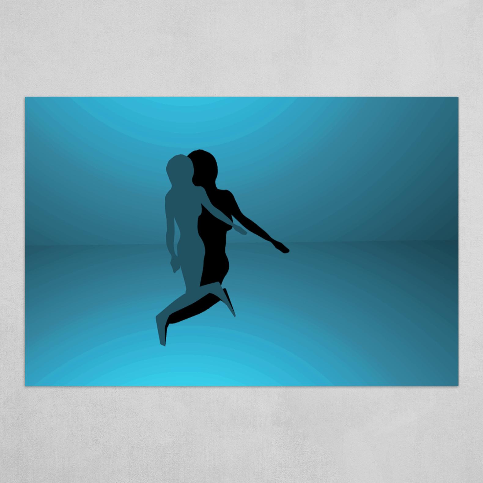 Loving Shadow - Blue