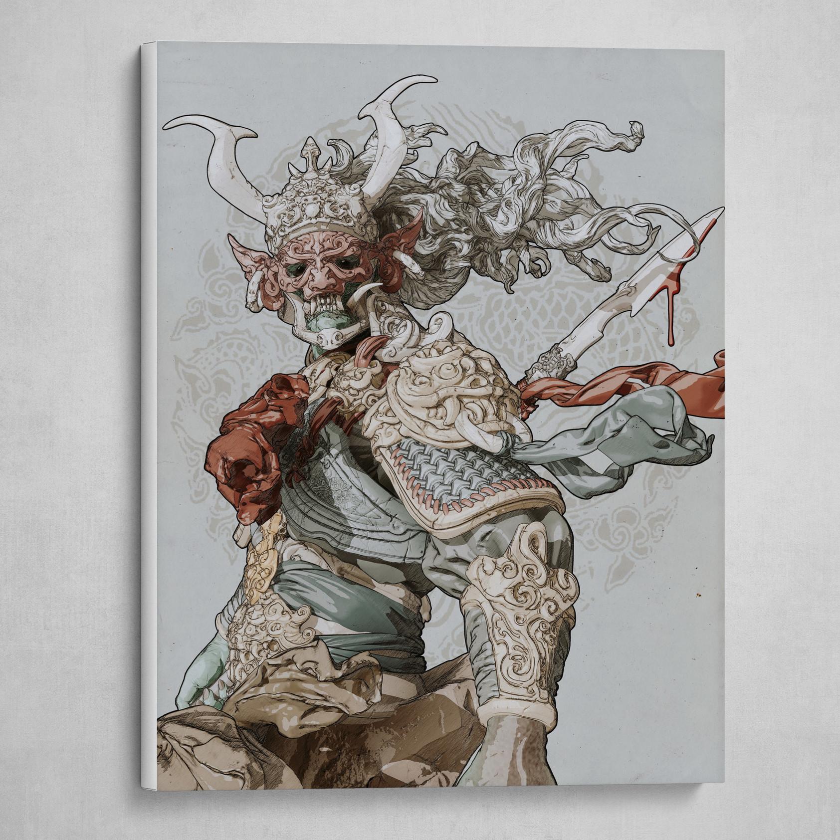 Warrior(portrait)