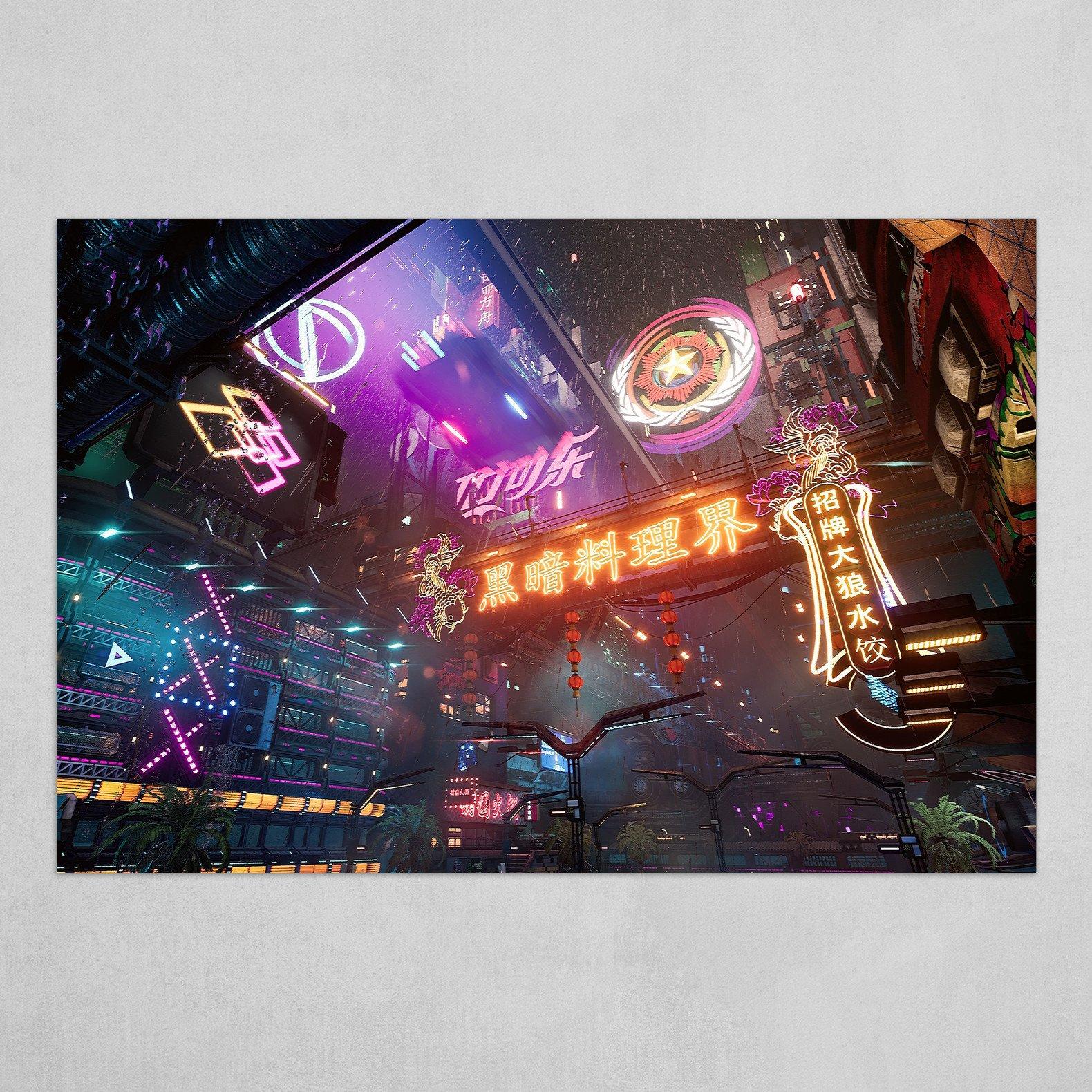 赛博朋克:霓虹中国 (CyberNeon) 001