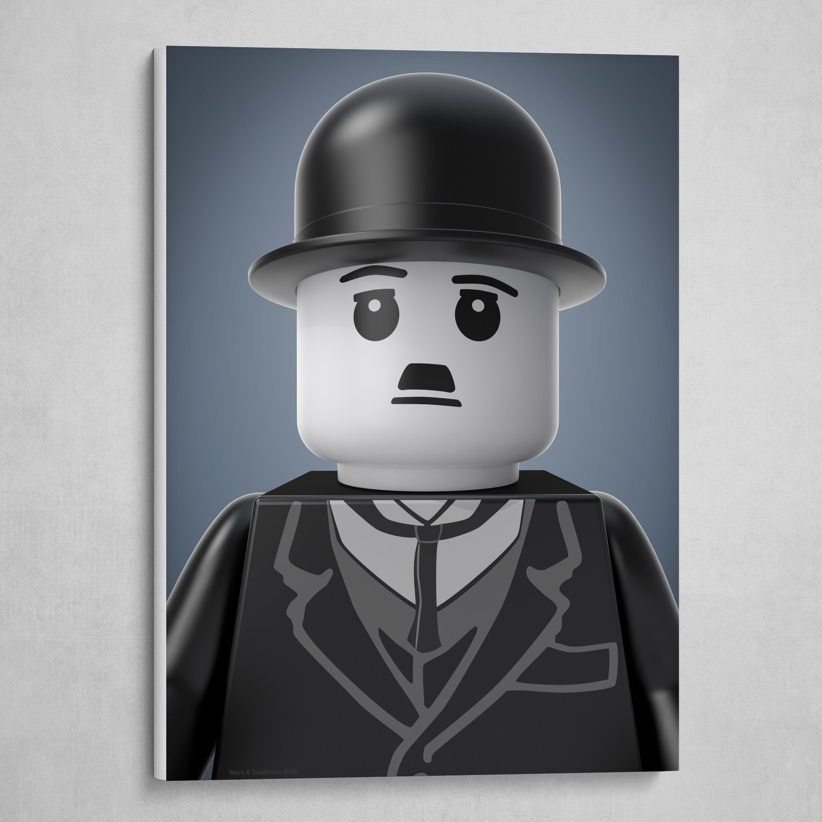 Chaplin Minifig