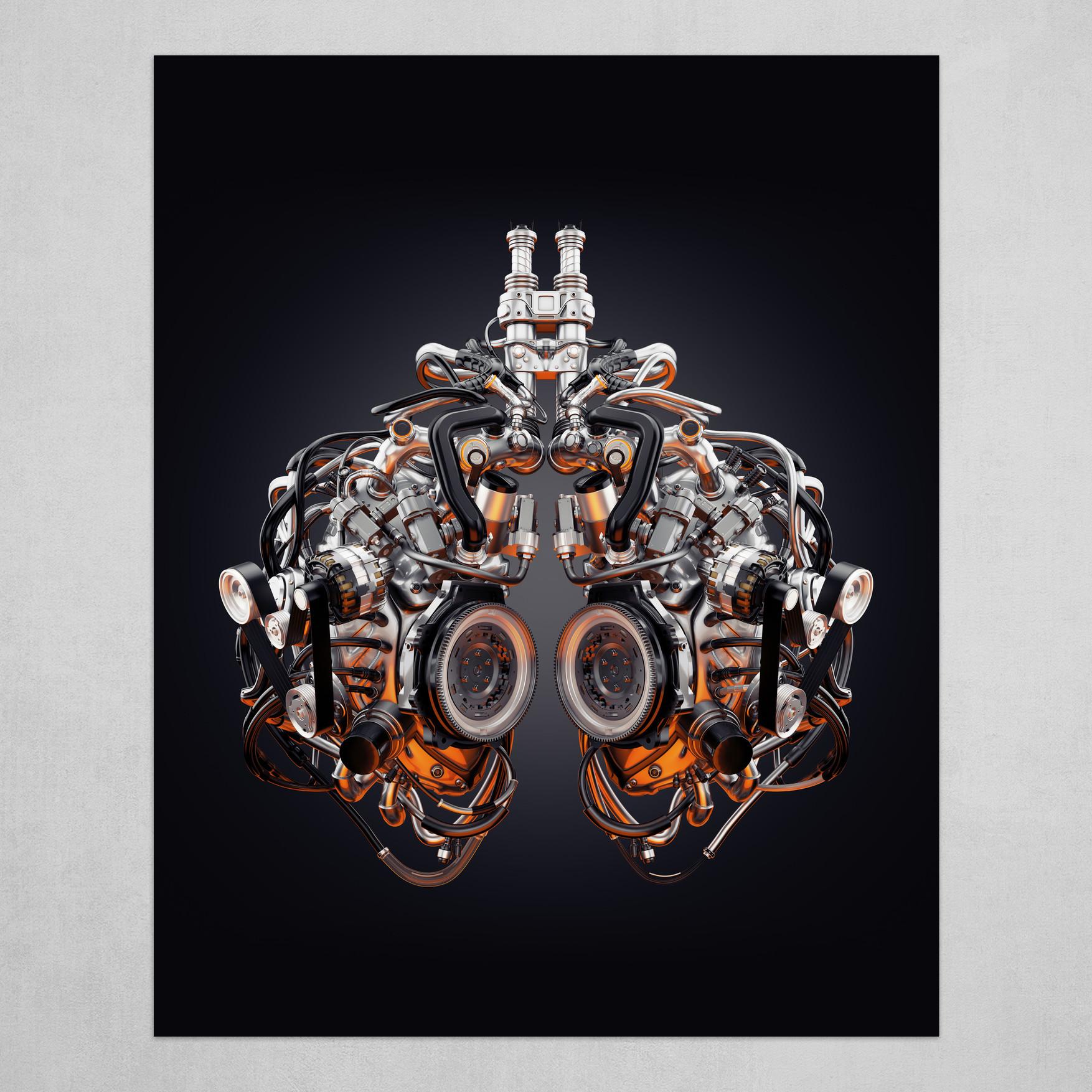 Steel robotic lungs