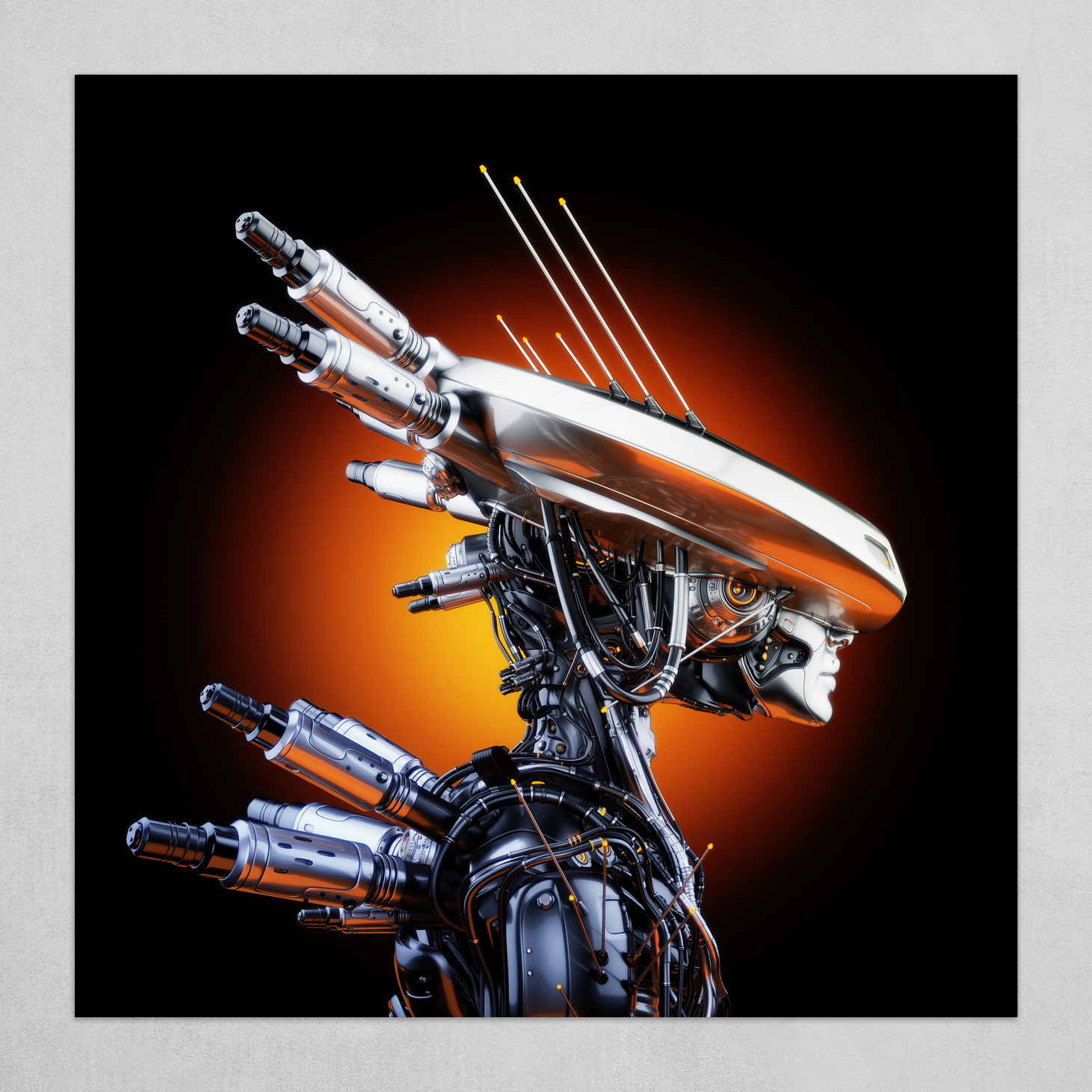 Sunrise of robots