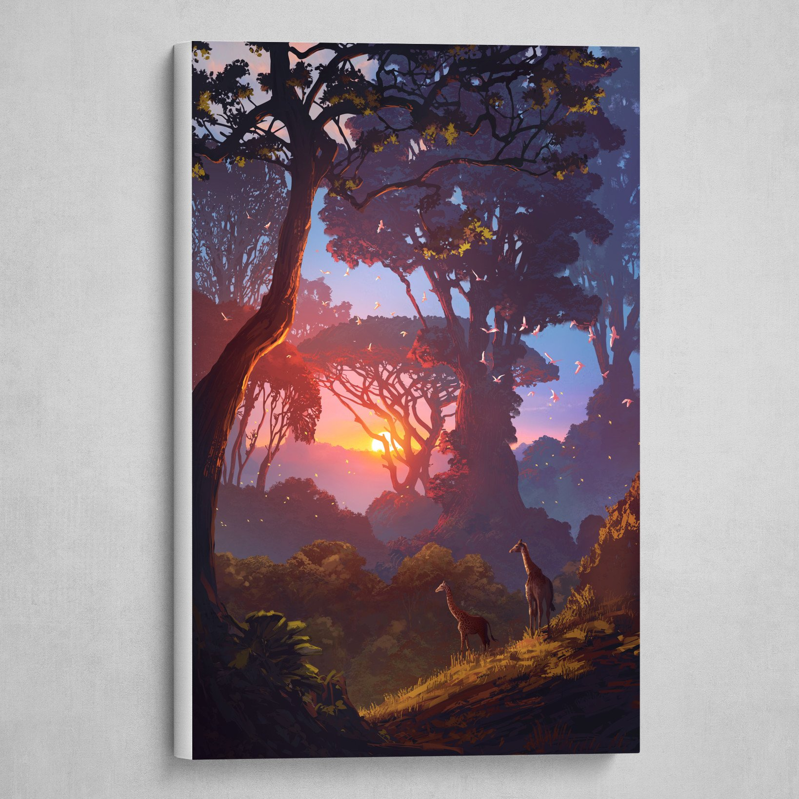 Forest of Liars : girafe