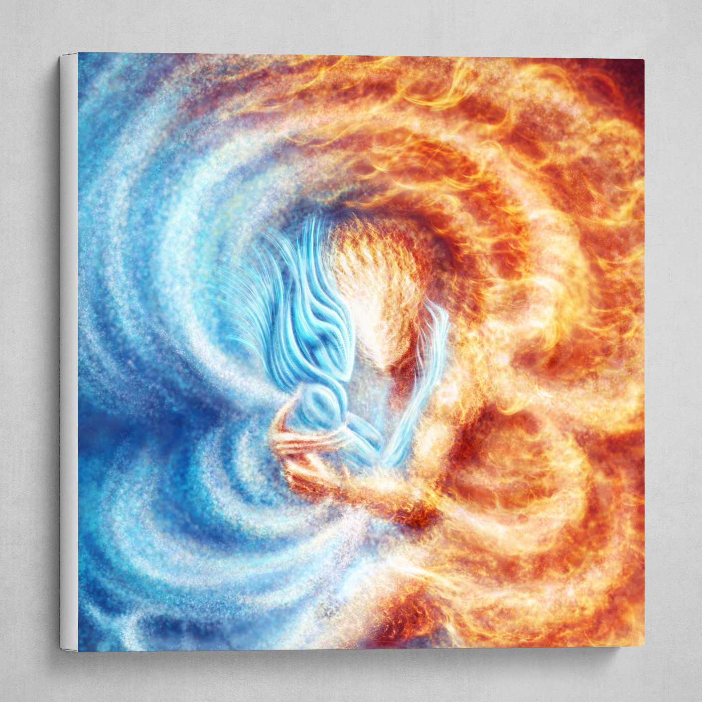 Fire and Ice (cropped into square)