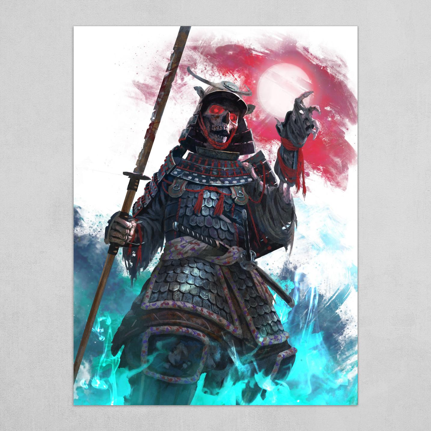 Undead Samurai BG