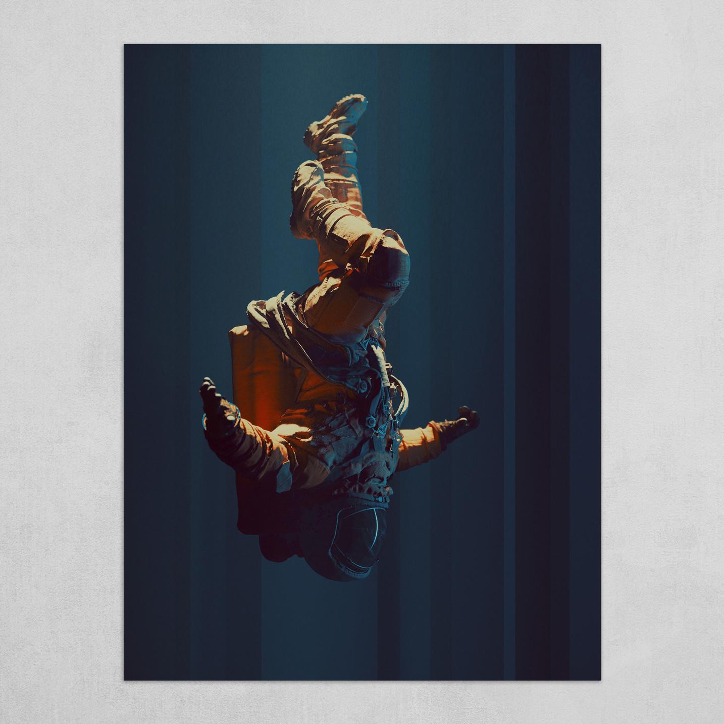 The Astronaut Falling