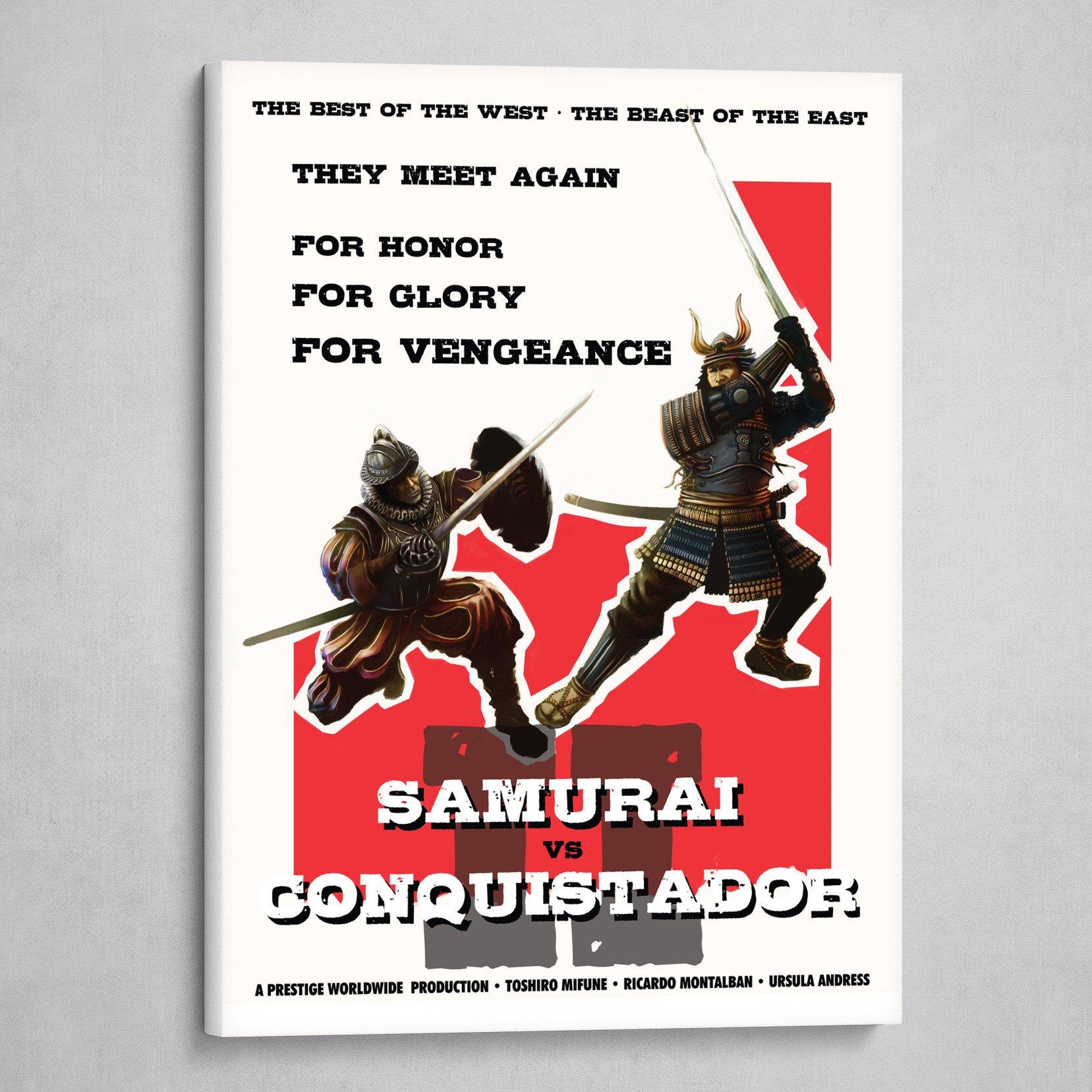 Samurai vs Conquistador 2