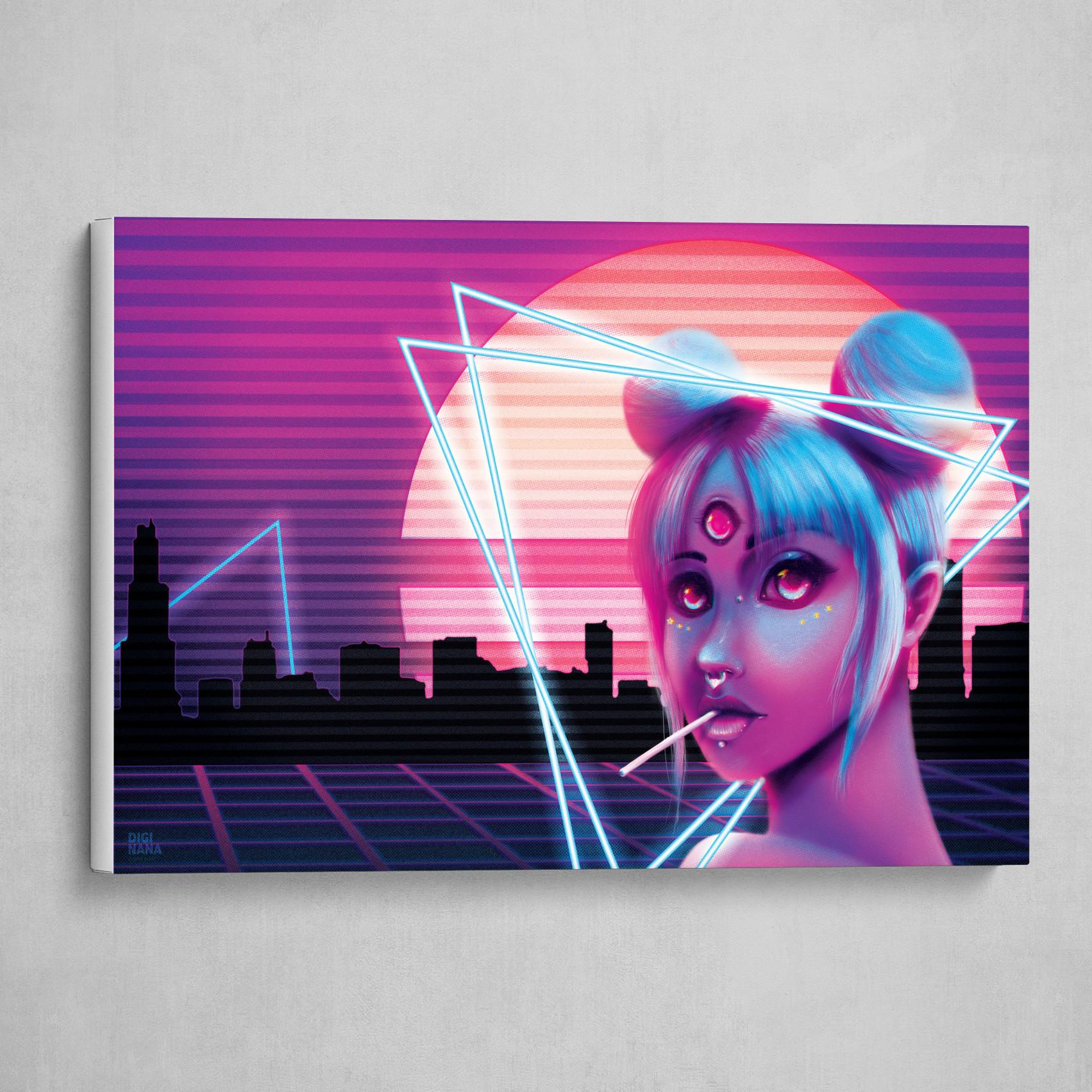Retrowave Neon