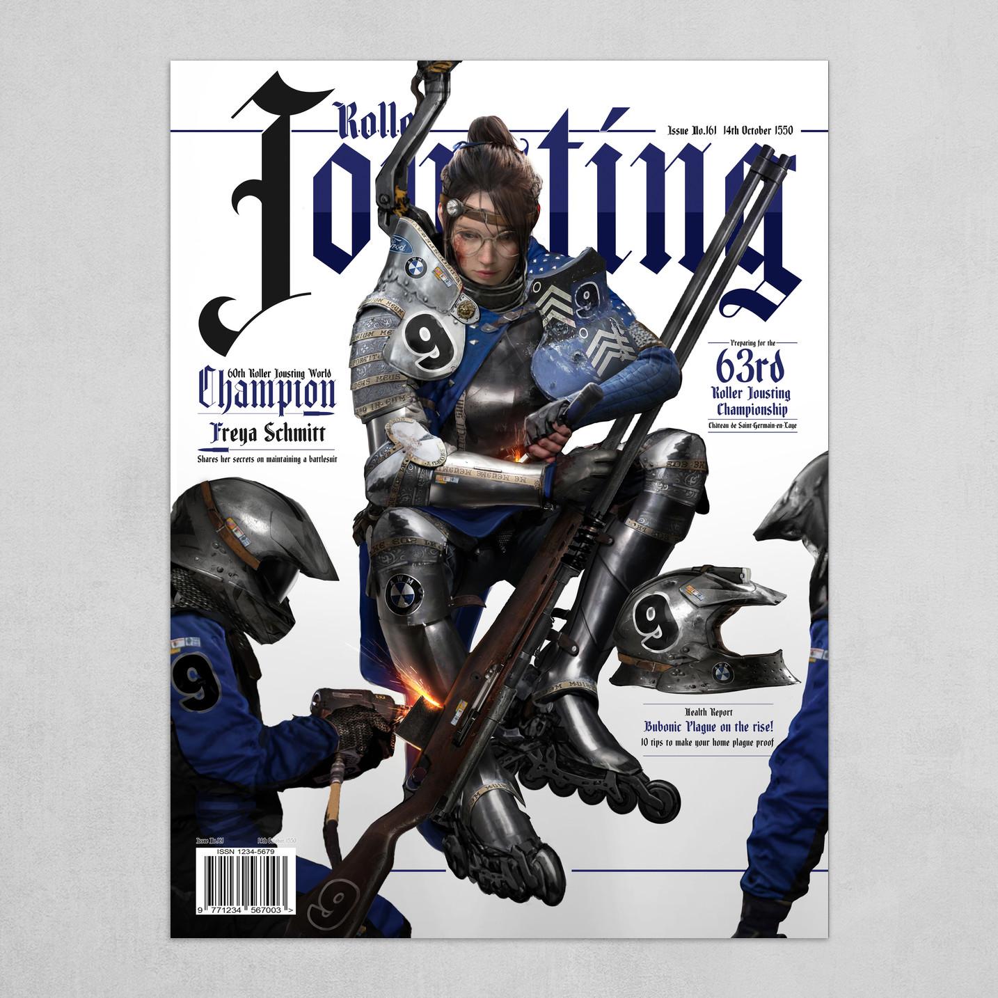 Roller Jousting - Halftime