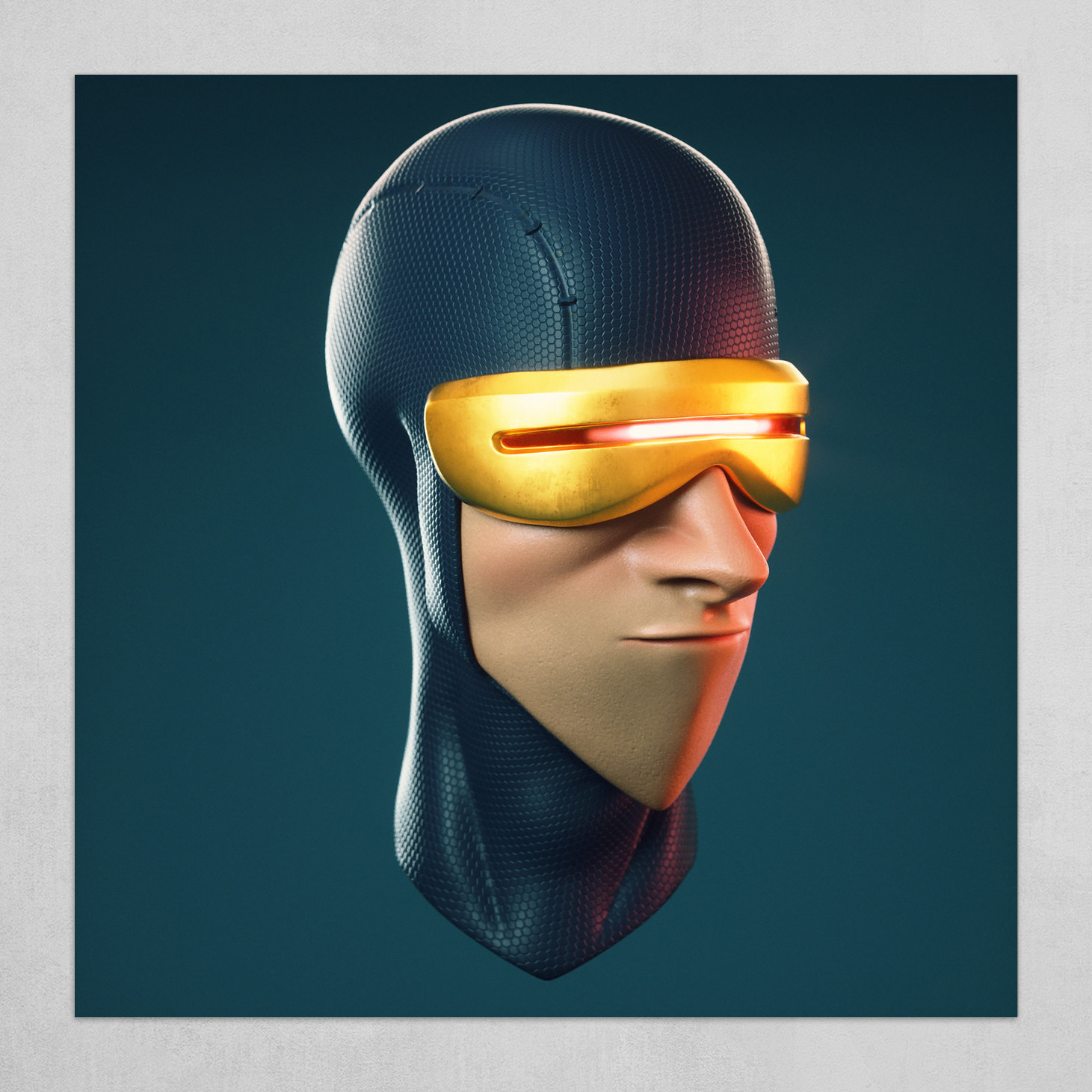 Cartoon Cyclops X-Men