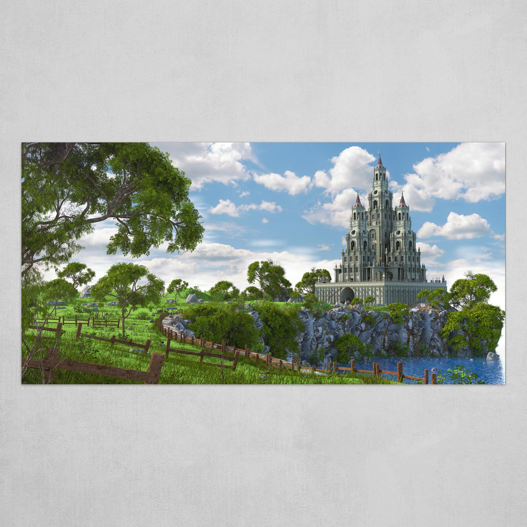 Fantasy Castle V3
