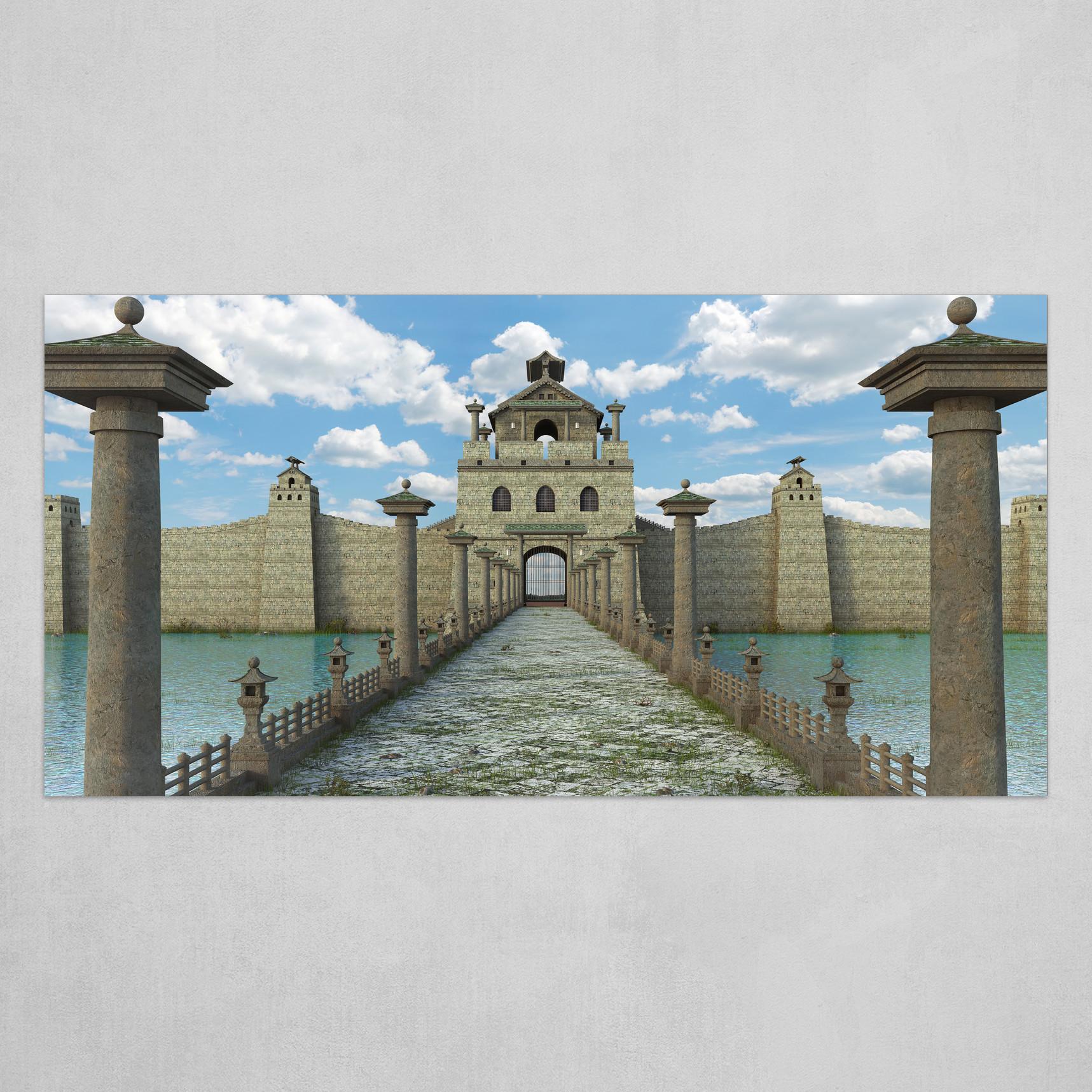 Asian Fantasy Wall
