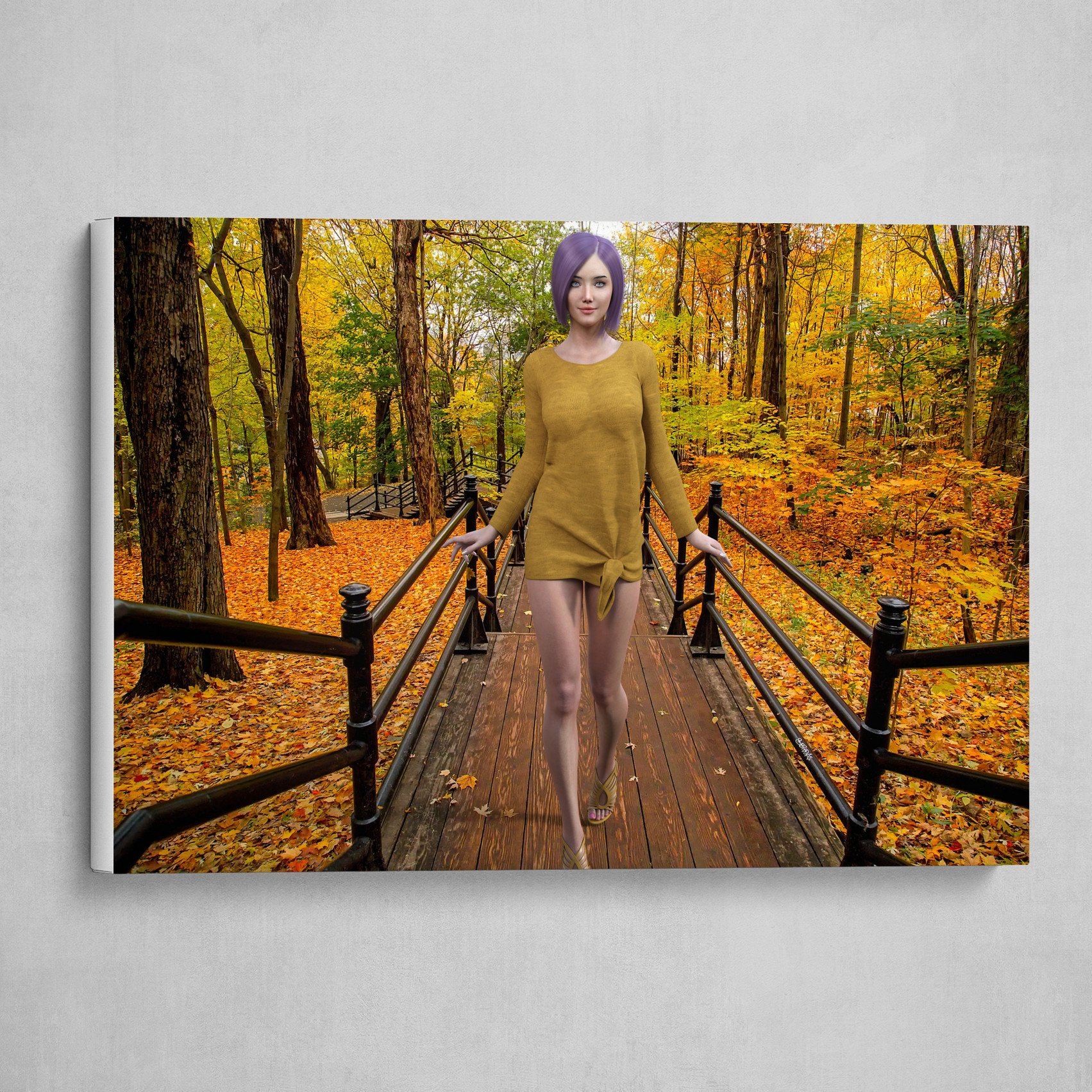 Serah Fei - The walk of Autumn