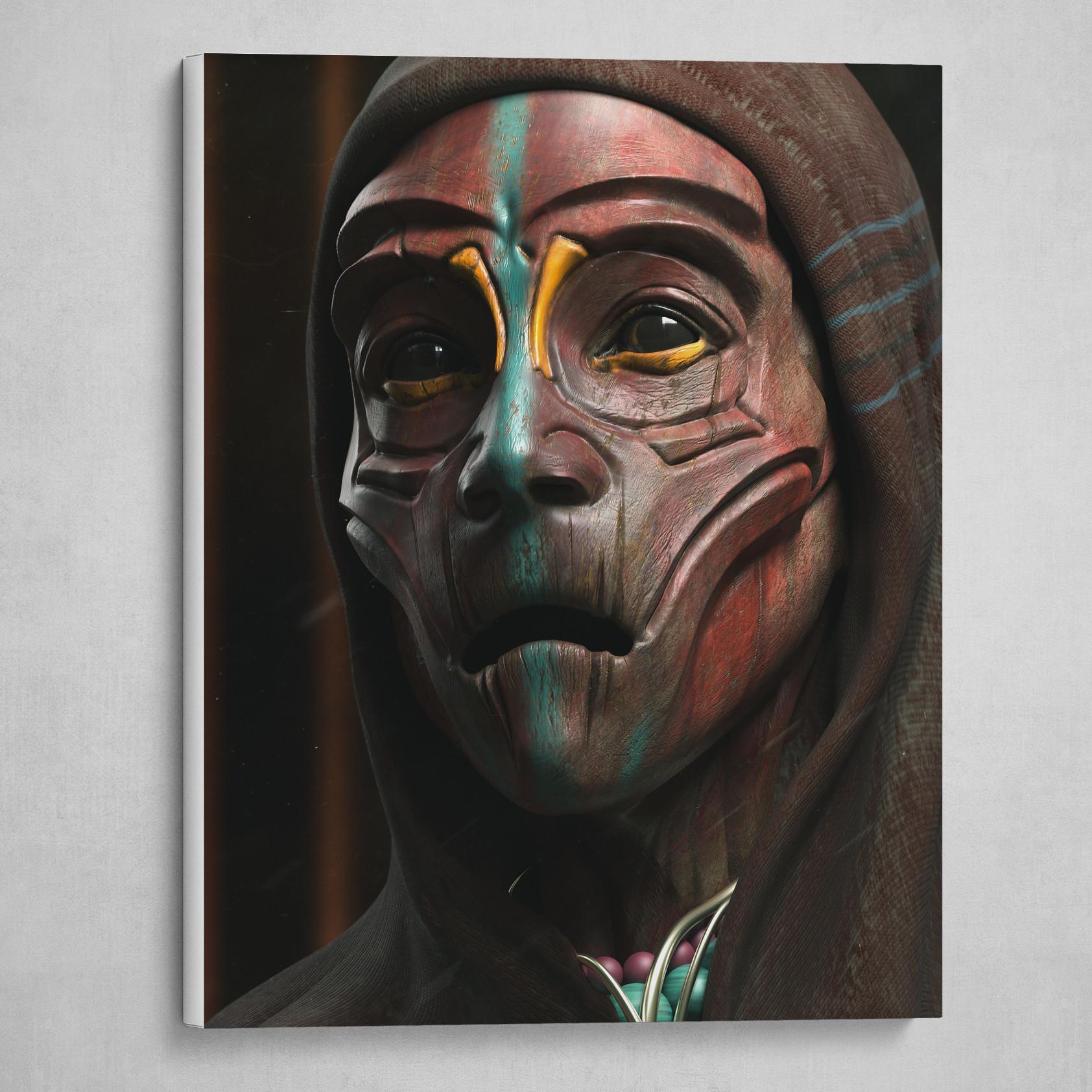 PREMIUM GICLEE CANVAS ART MUSE