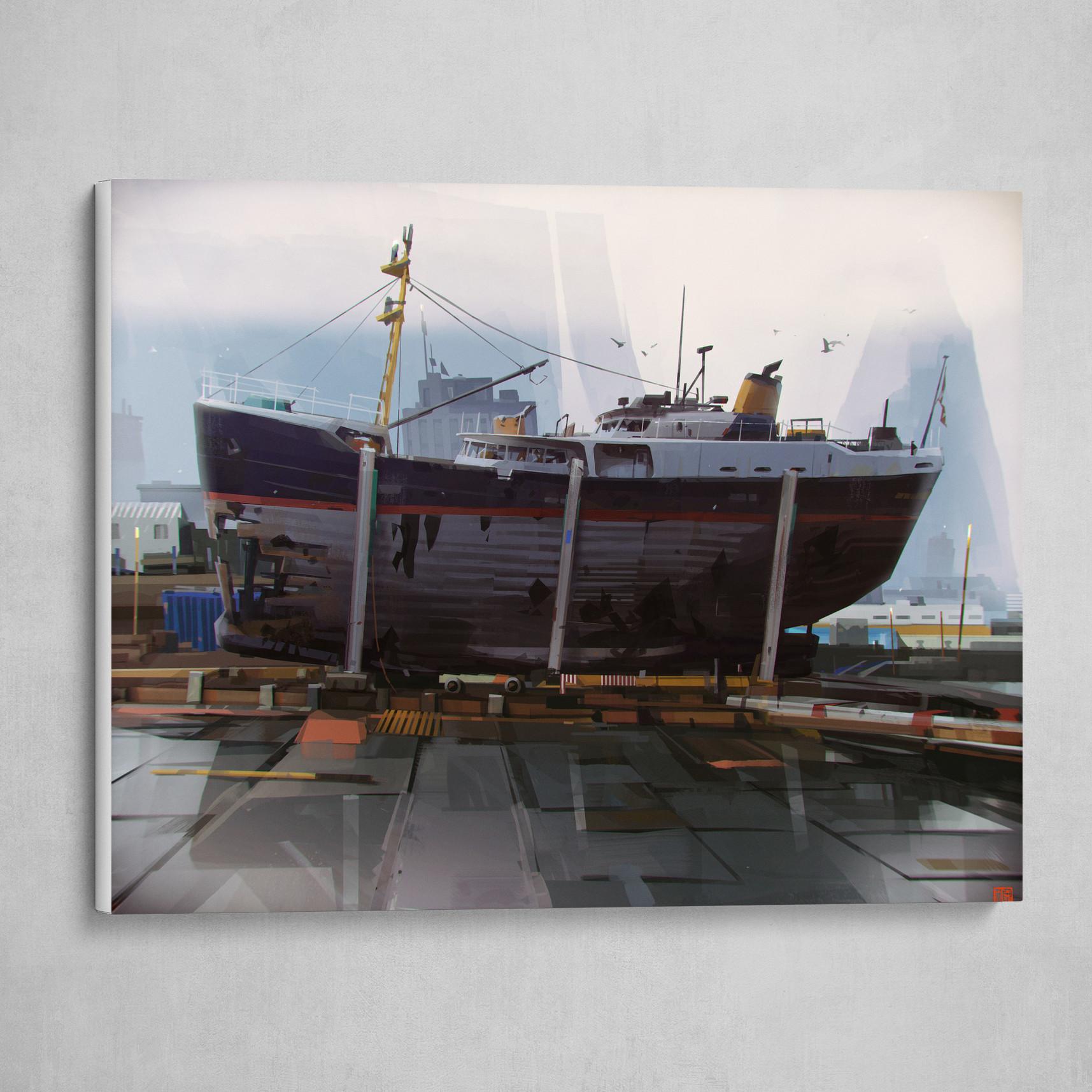 HëllSpit shipyard