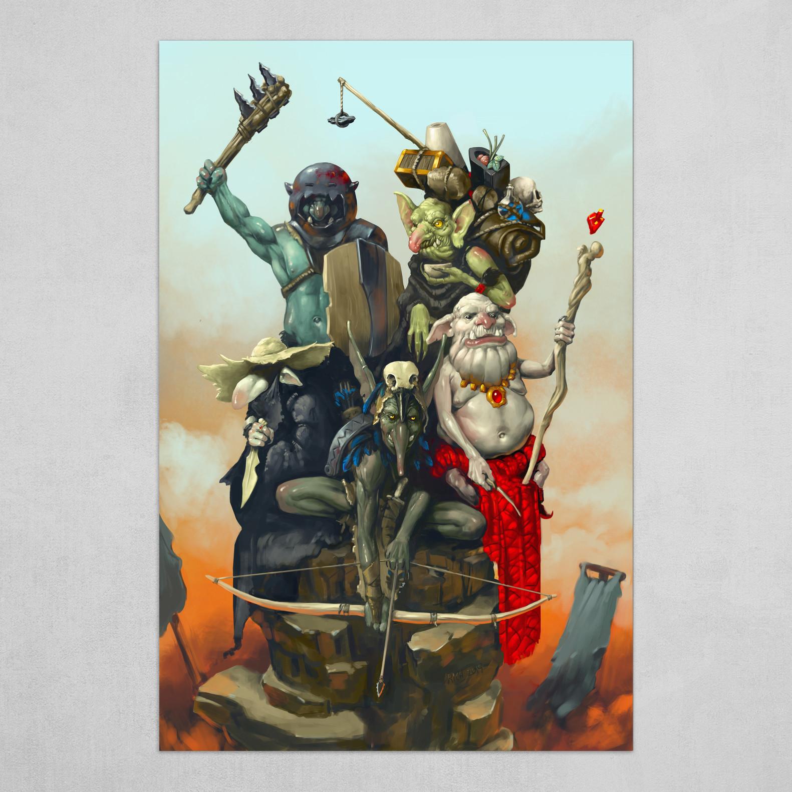 Goblin Adventuring Party