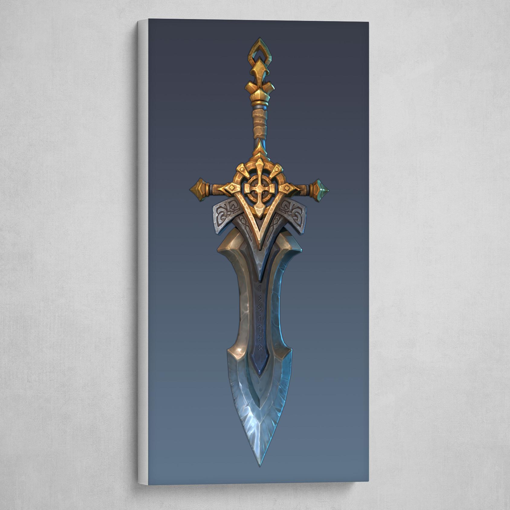 The Legend of King Arthur - Artstation Challenge - Excalibur