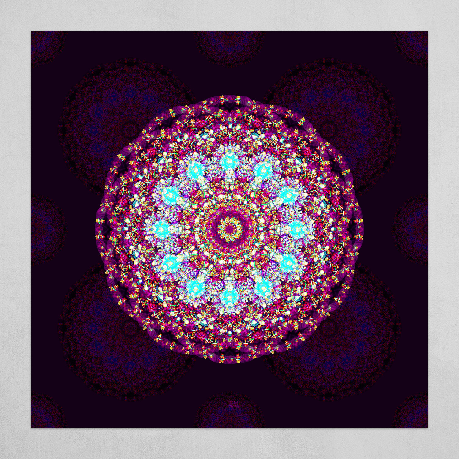Mandala 2.0 background (square)