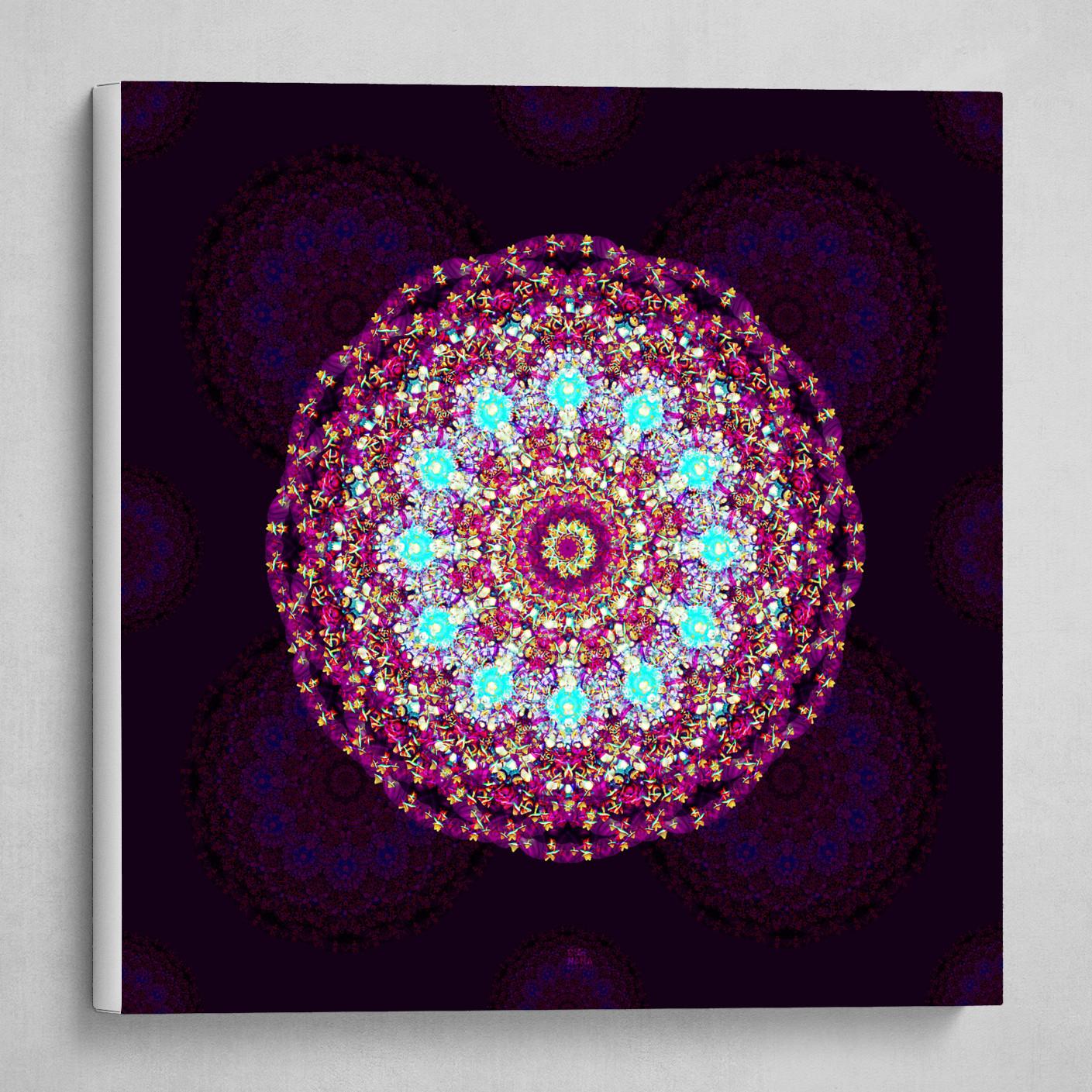 Mandala 2.0 background (square)