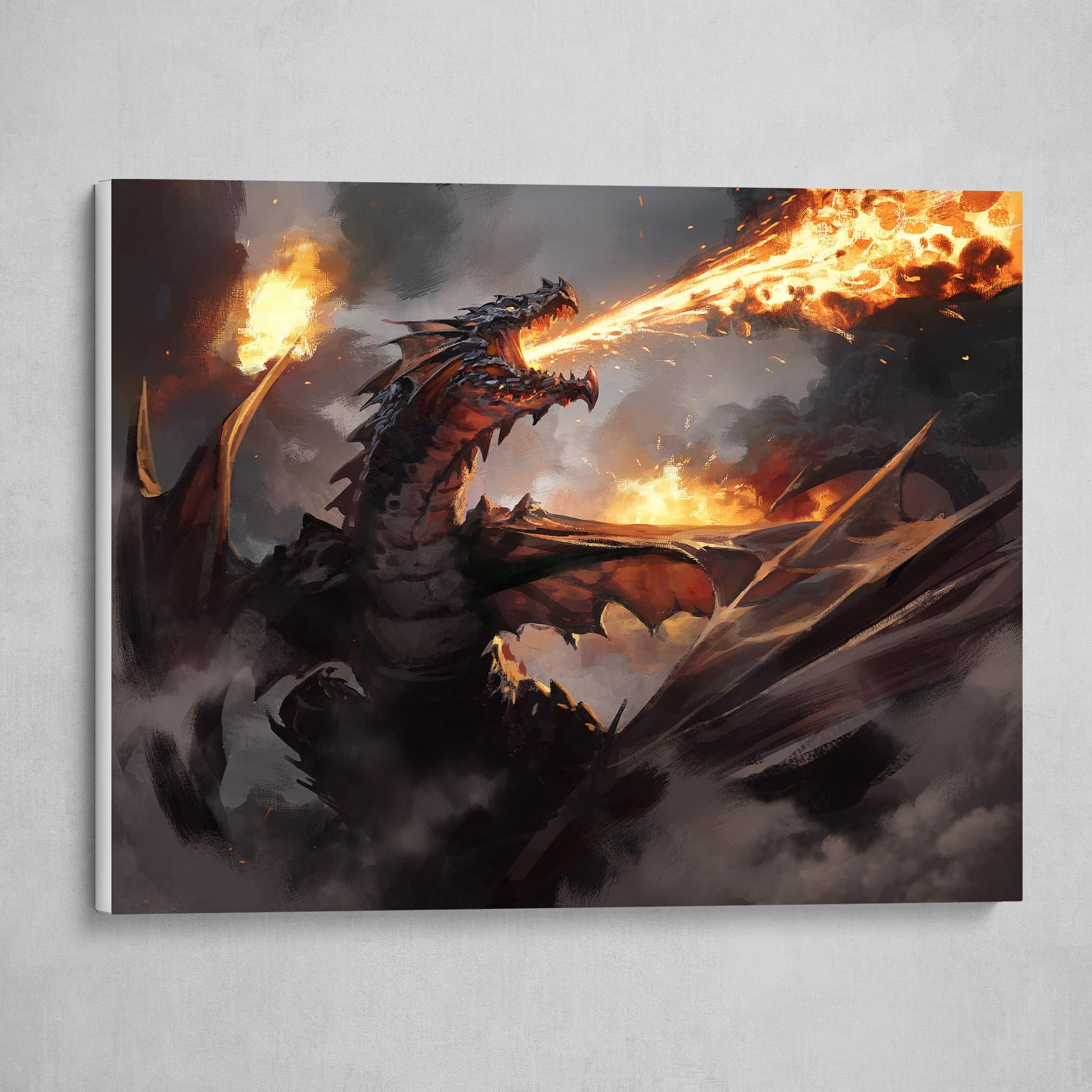 Drakuseth, Maw of Flames - Magic the Gathering