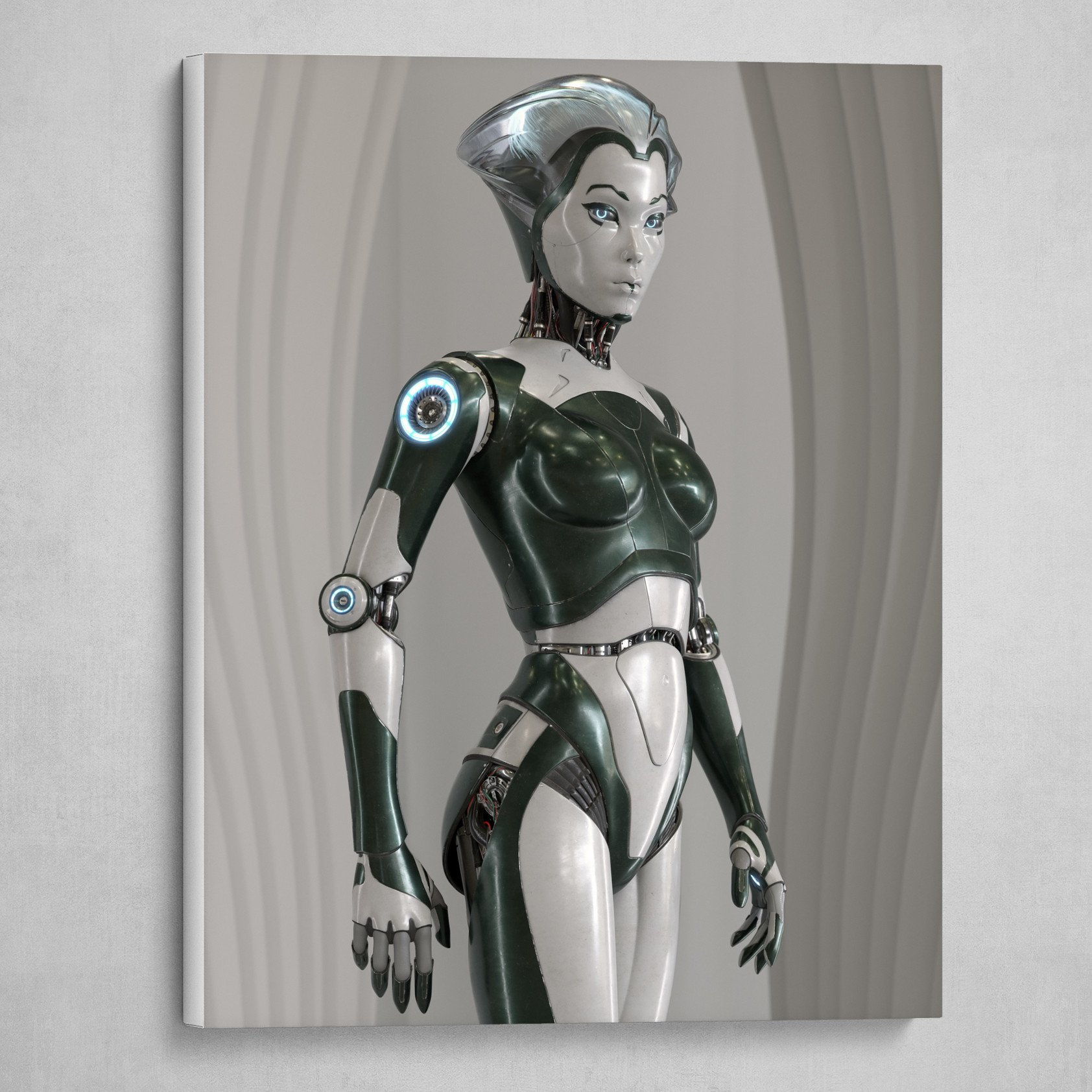 RobotSkin Femal Android