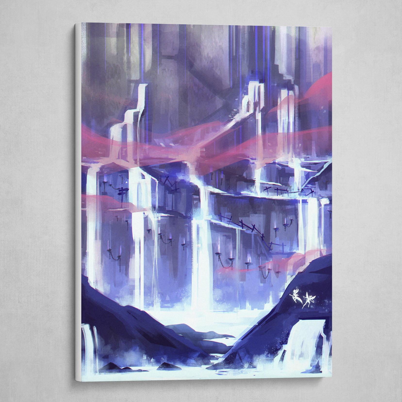 Mystic Waterfall Caverns