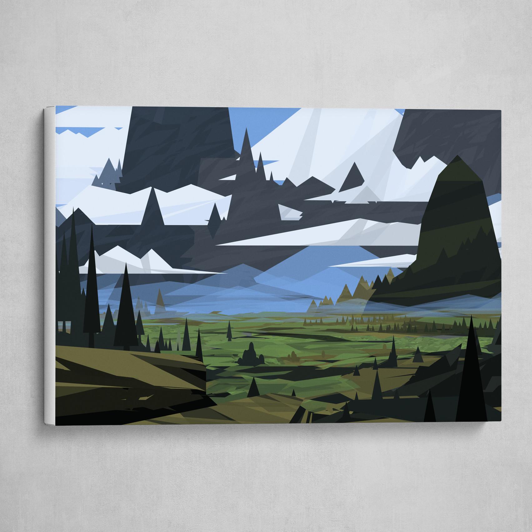 Geometric Landscape 1