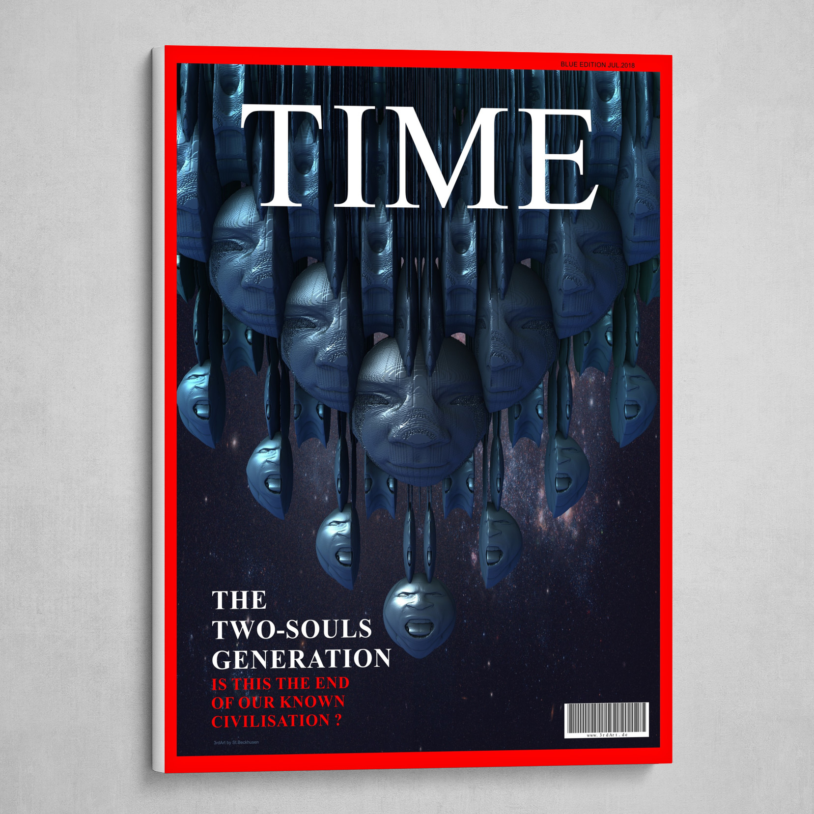 Time - The Two-Souls Generation (Blue Edition)