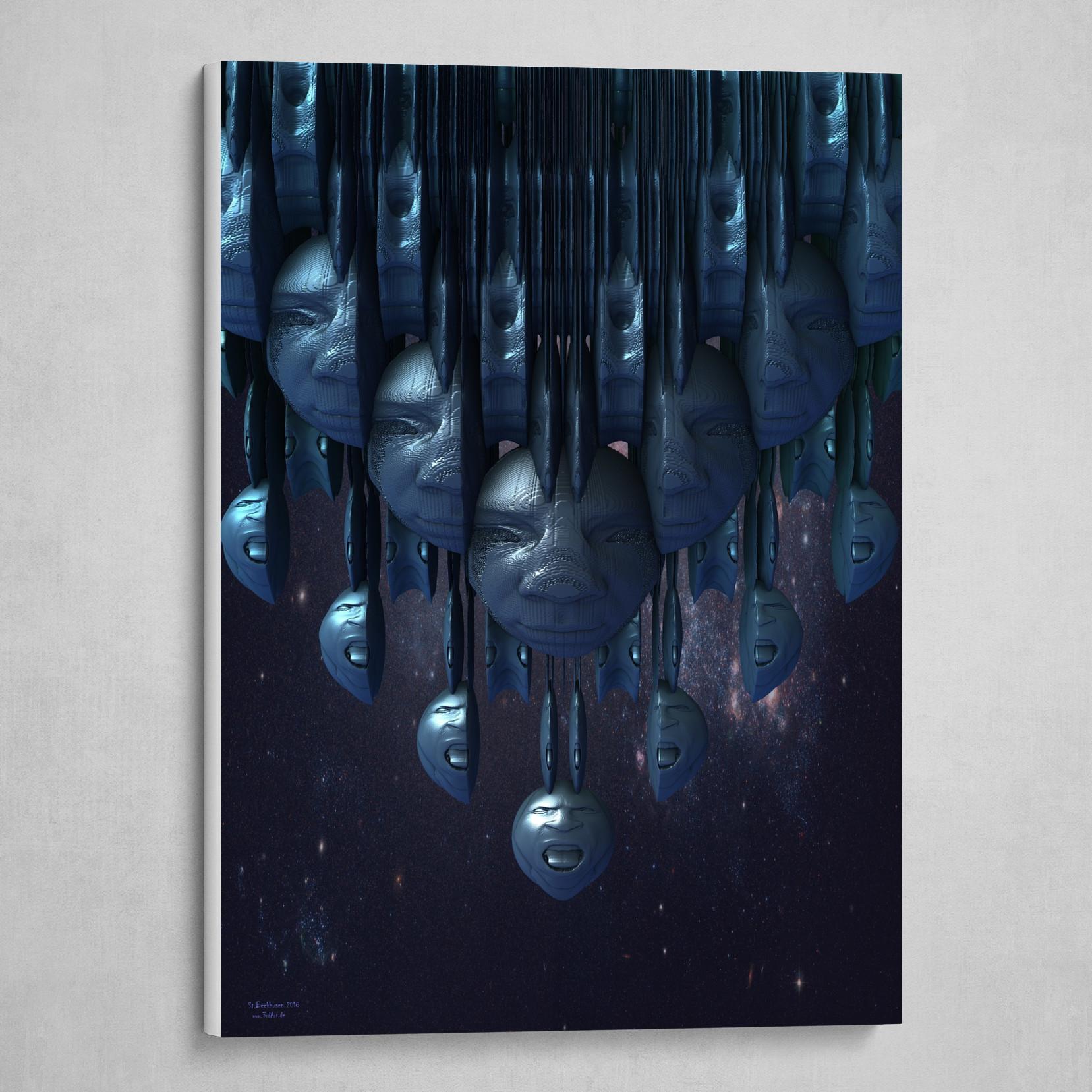 Time Artwork (Blue Edition)