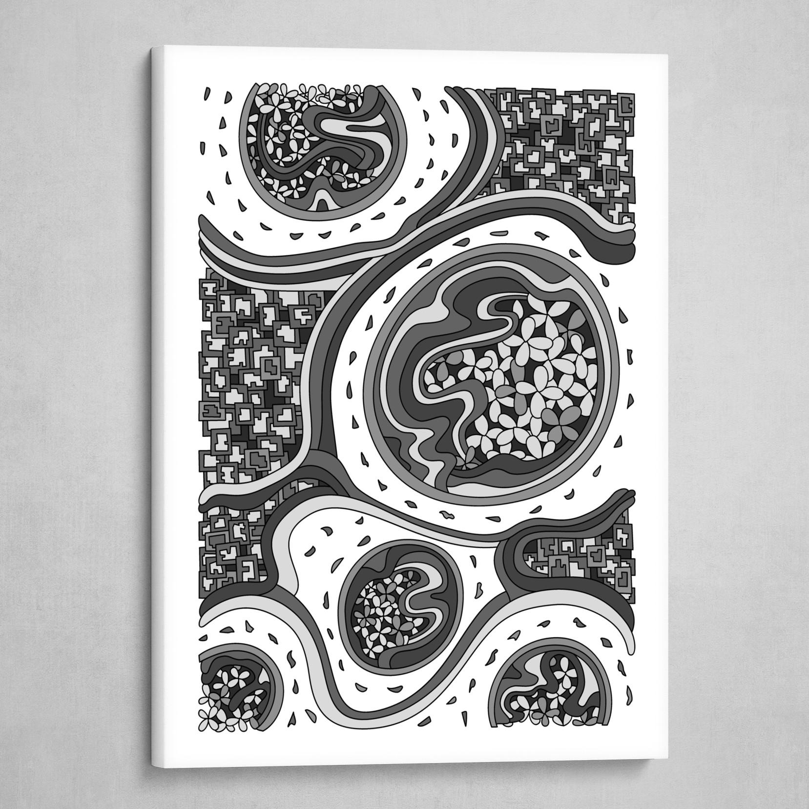 Wandering 06: grayscale