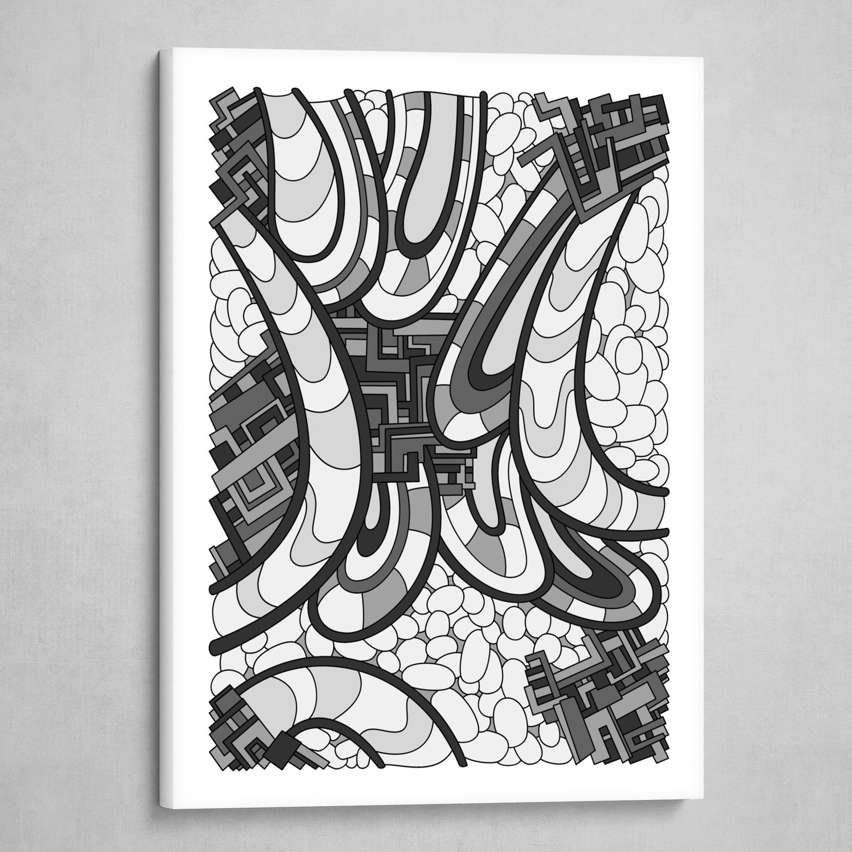 Wandering 09: grayscale