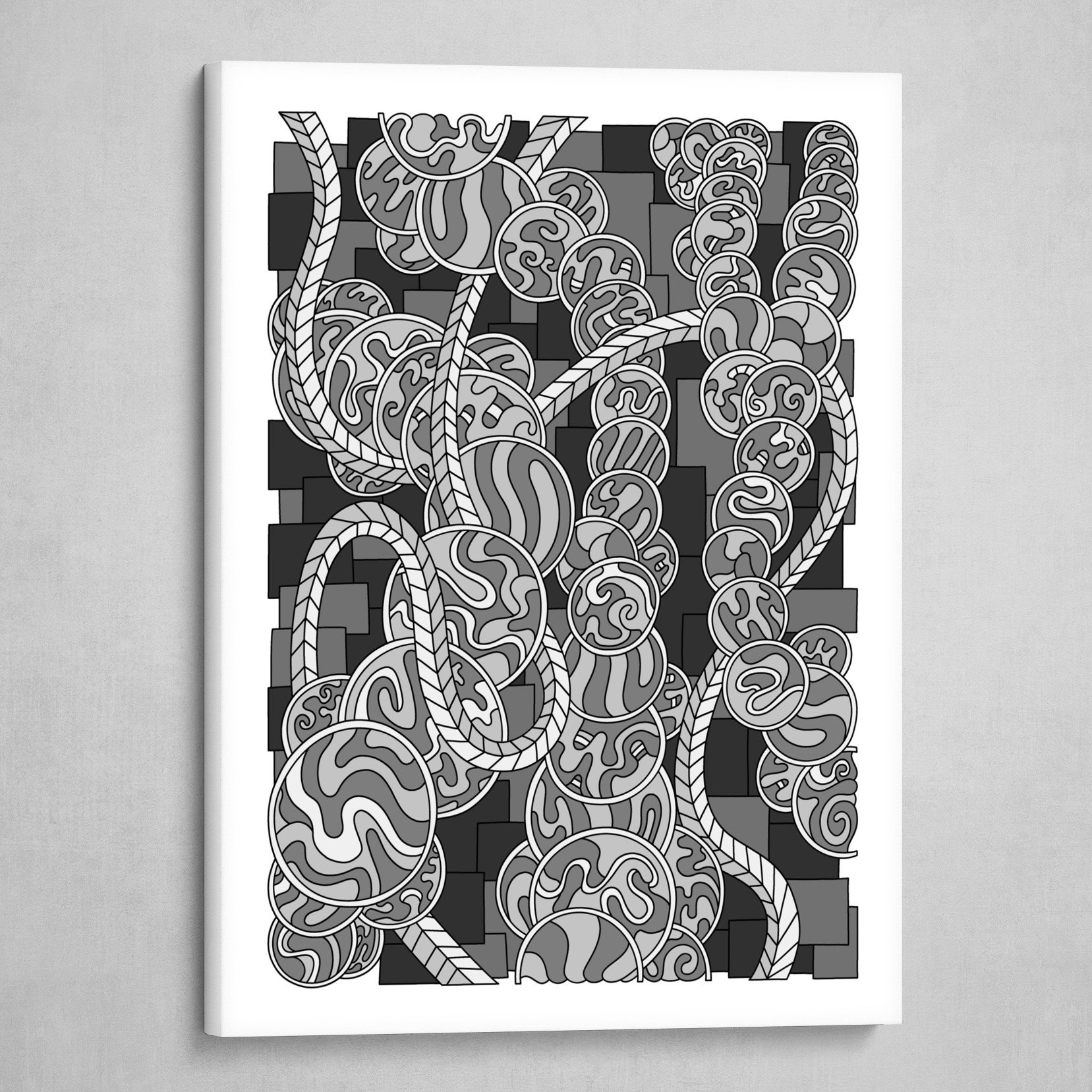 Wandering 43: grayscale