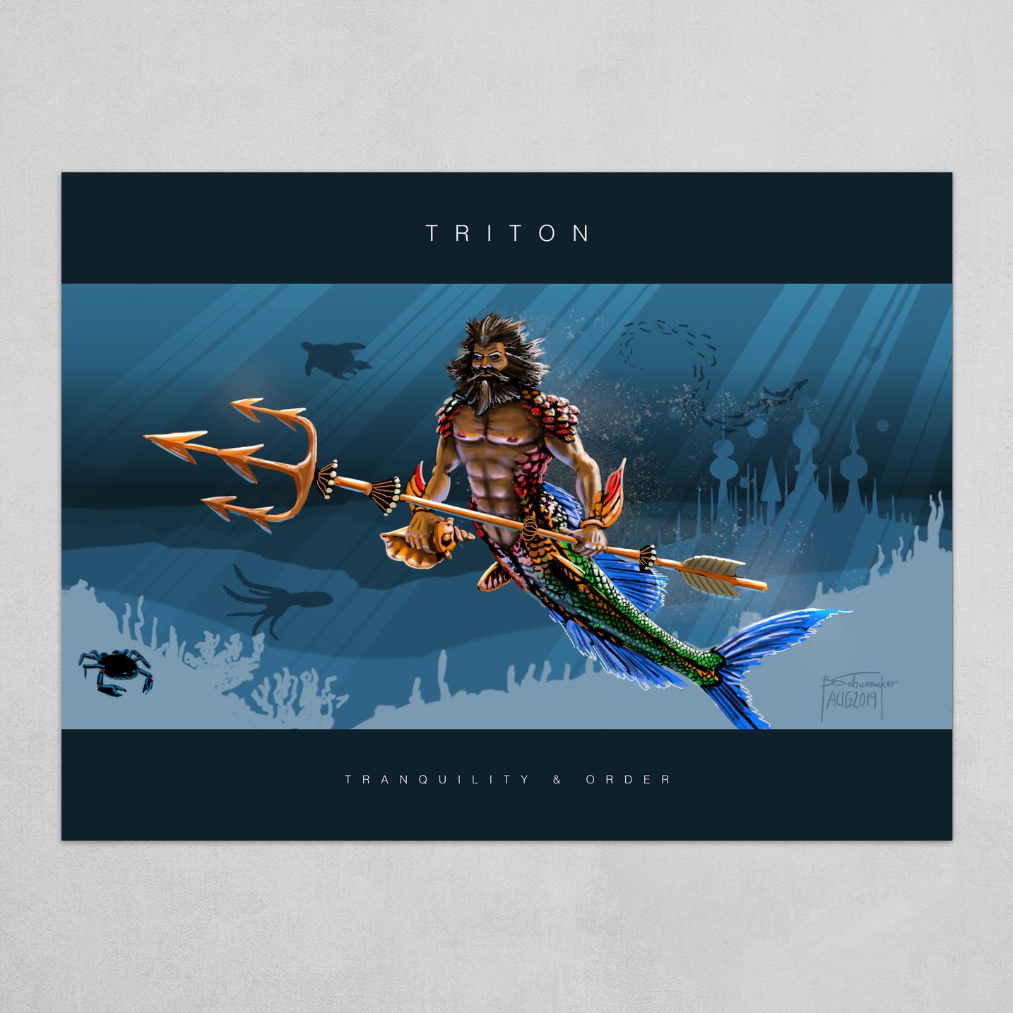 Triton - Poster