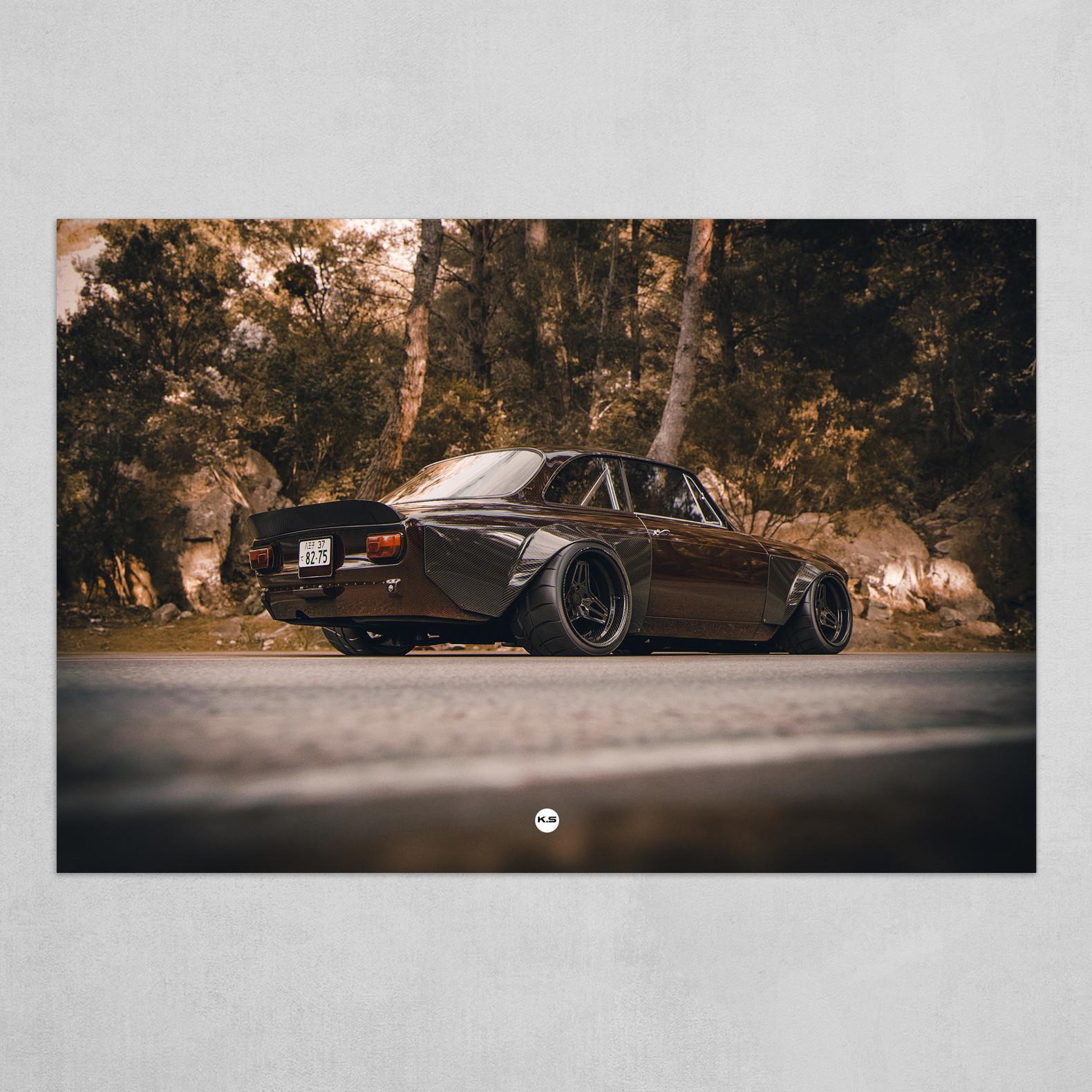 K.S ALFA V8 GIULIA GTA