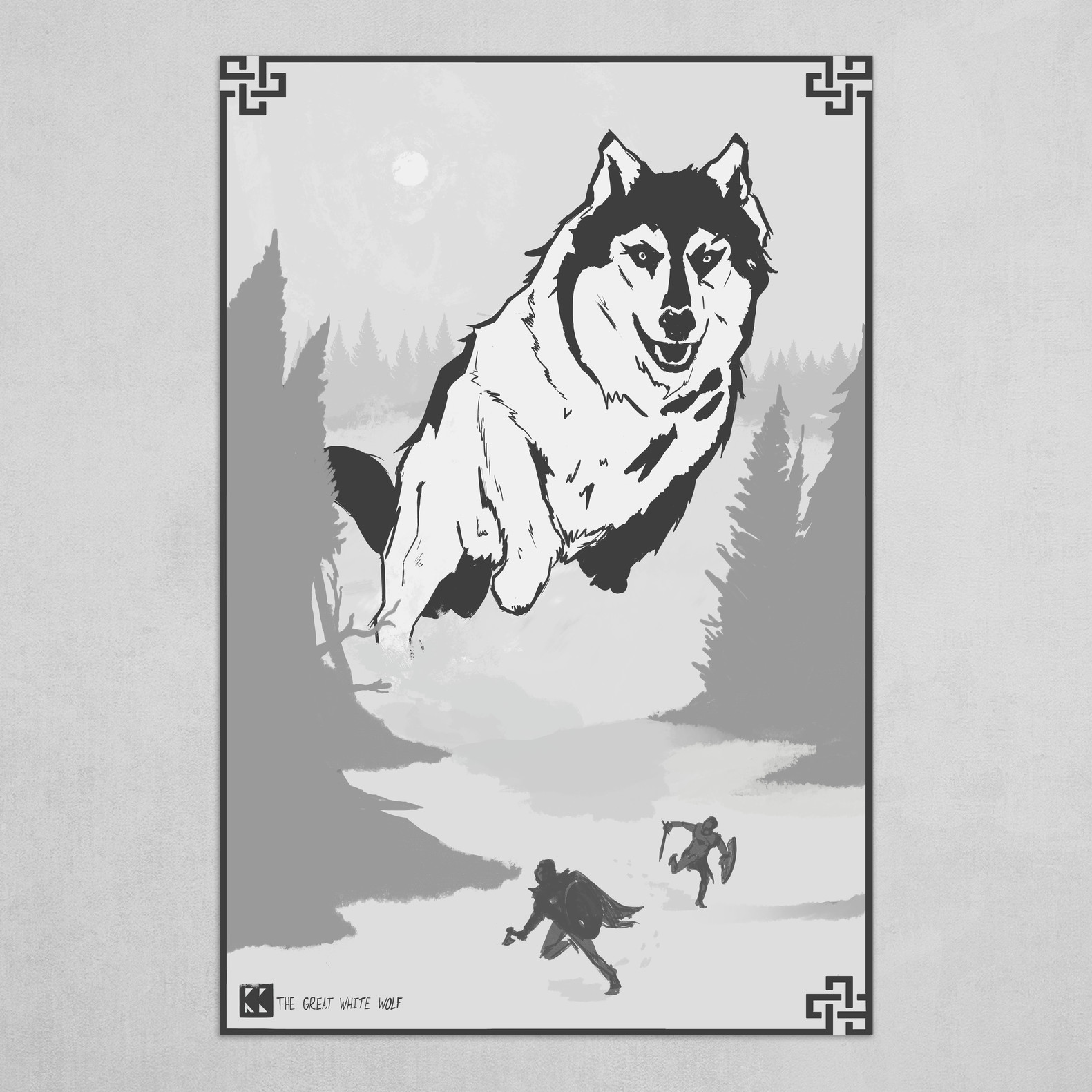 The Great White Wolf