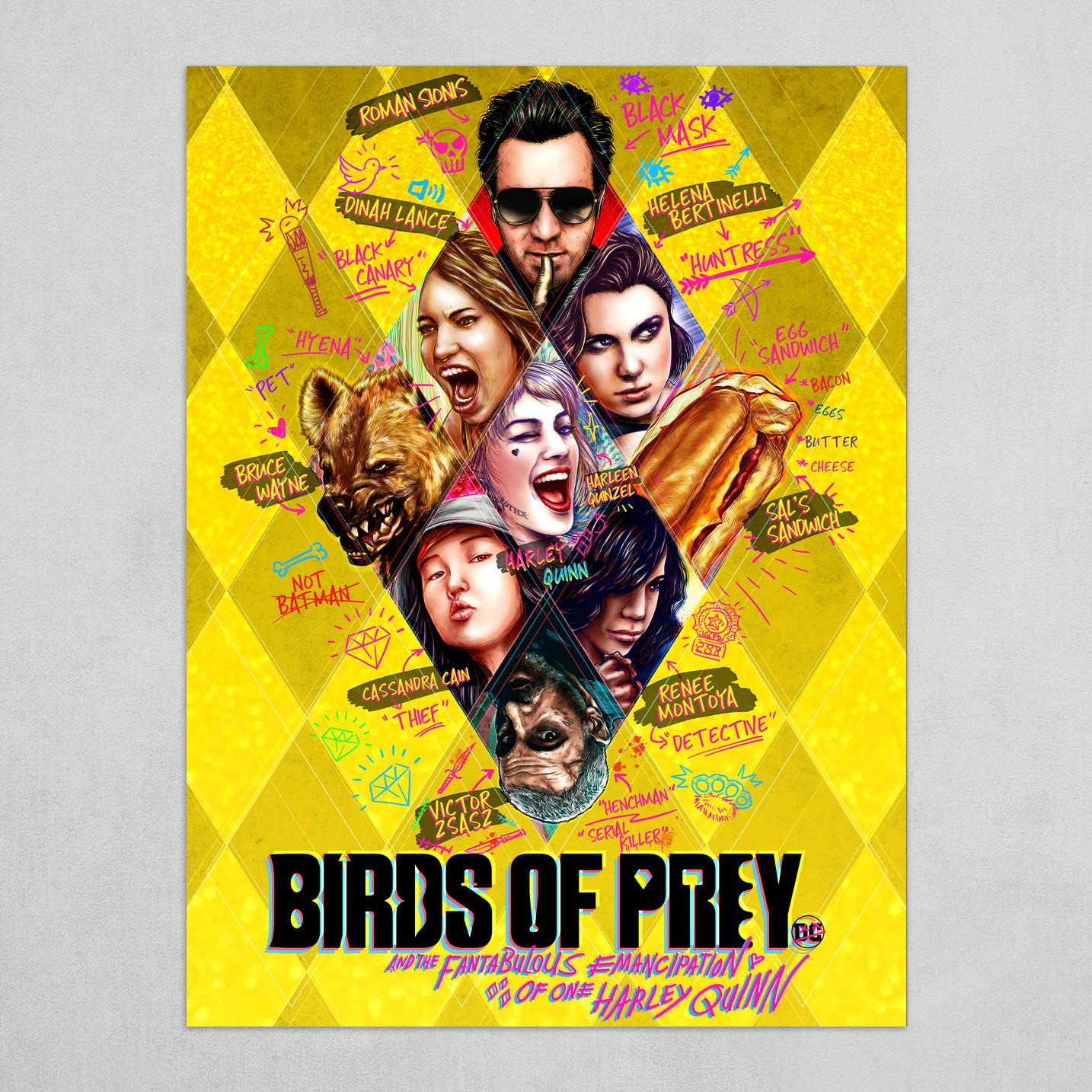 Artstation Birds Of Prey Hd Metal Print