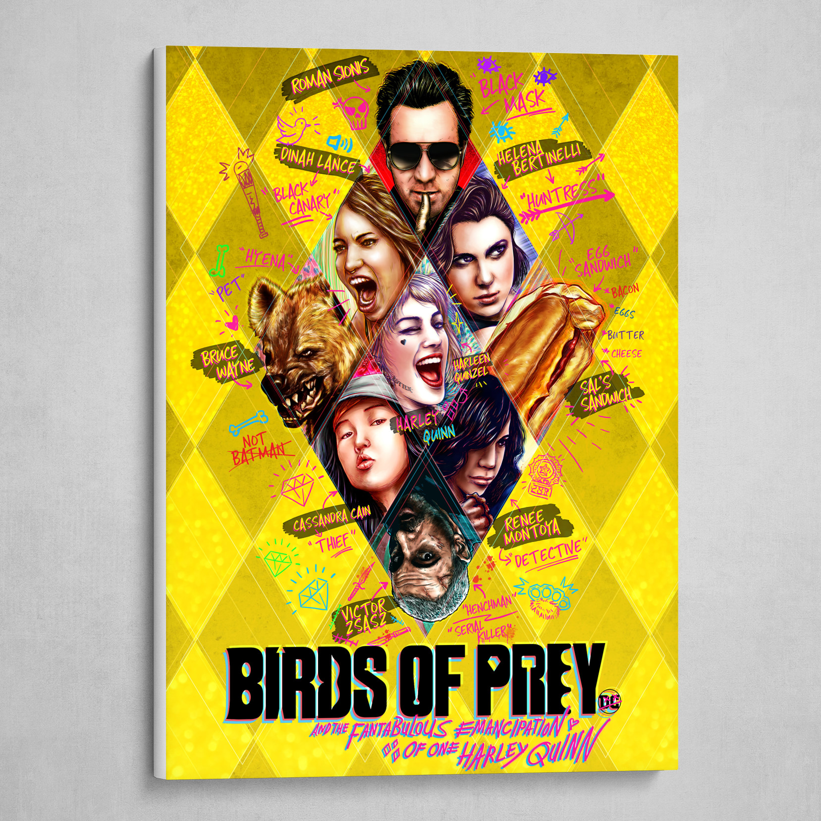Artstation Birds Of Prey Canvas Print