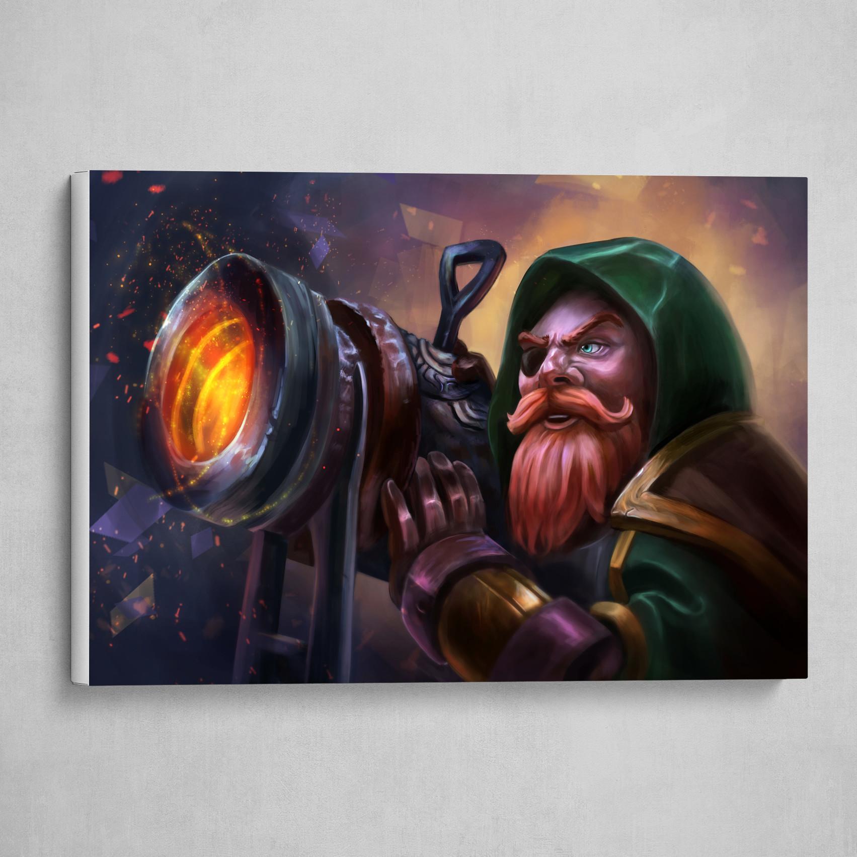 Dwarf Canoneer!