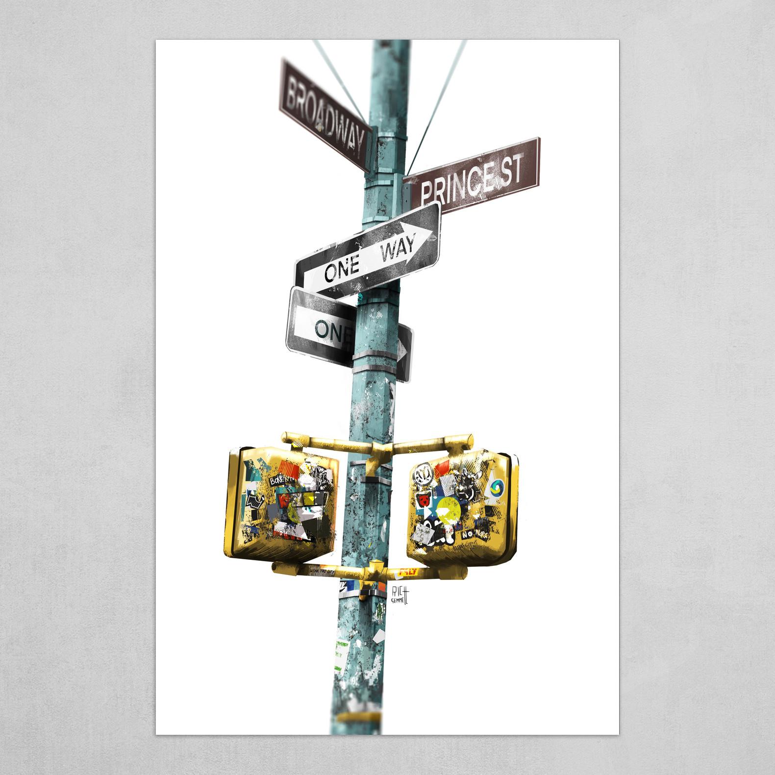 New York Street Furniture
