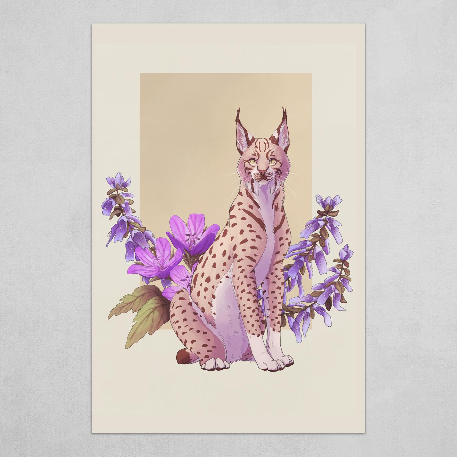 Floral Lynx