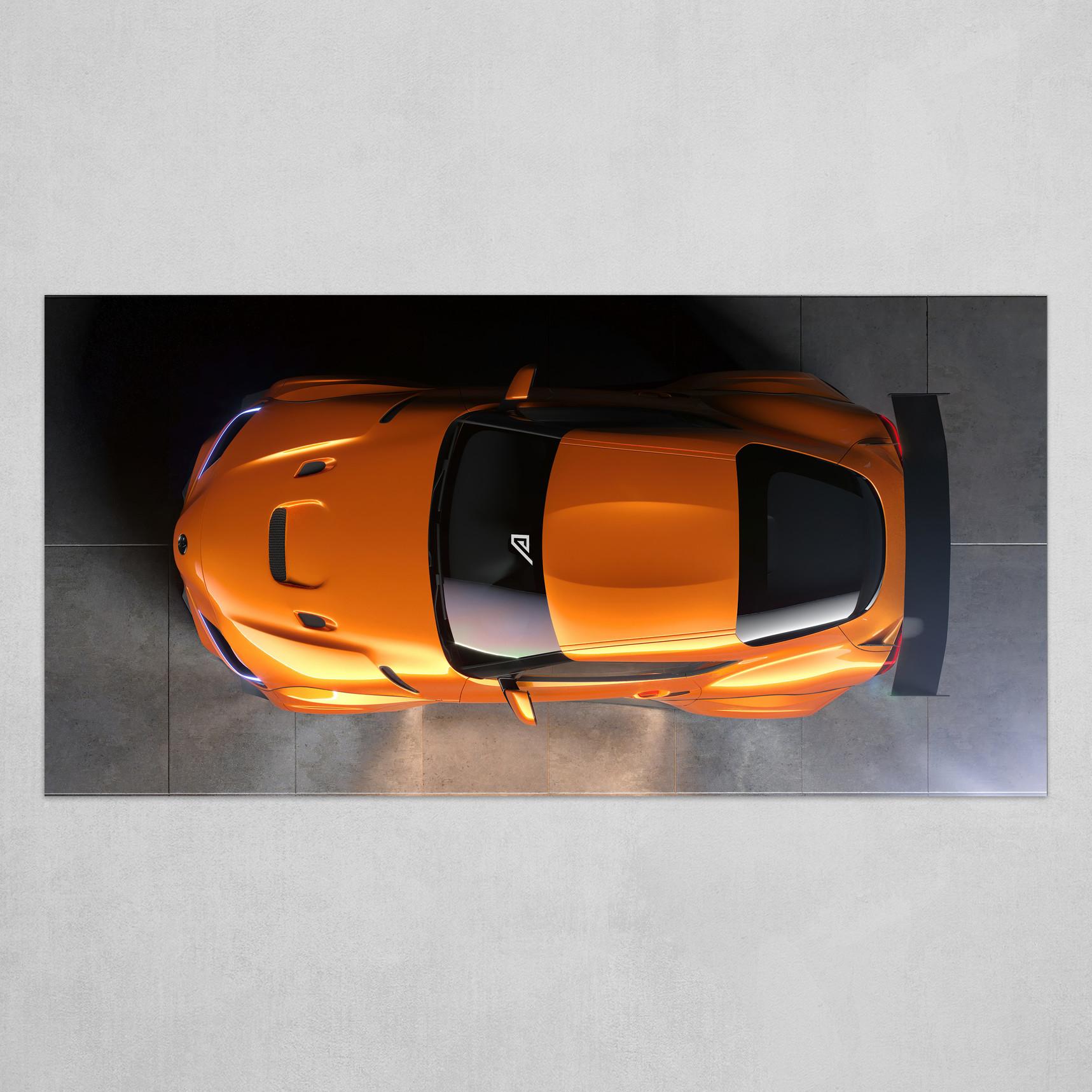 Toyota Supra JOTA edition top