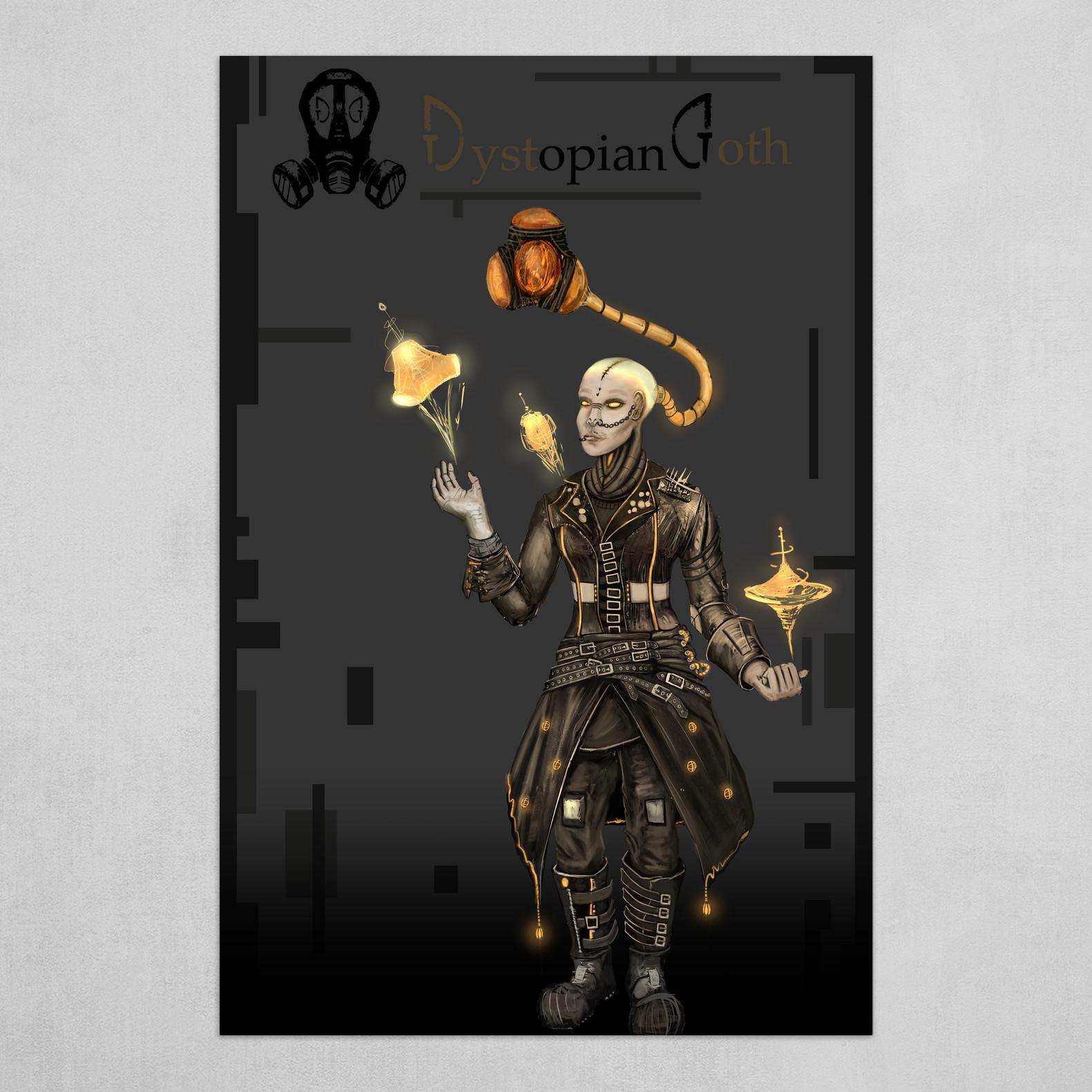 Dystopian Goth | Character_03 - Benevolent