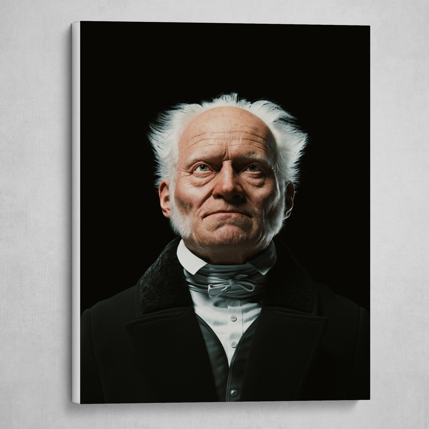 Arthur Schopenhauer Digital Bust #2