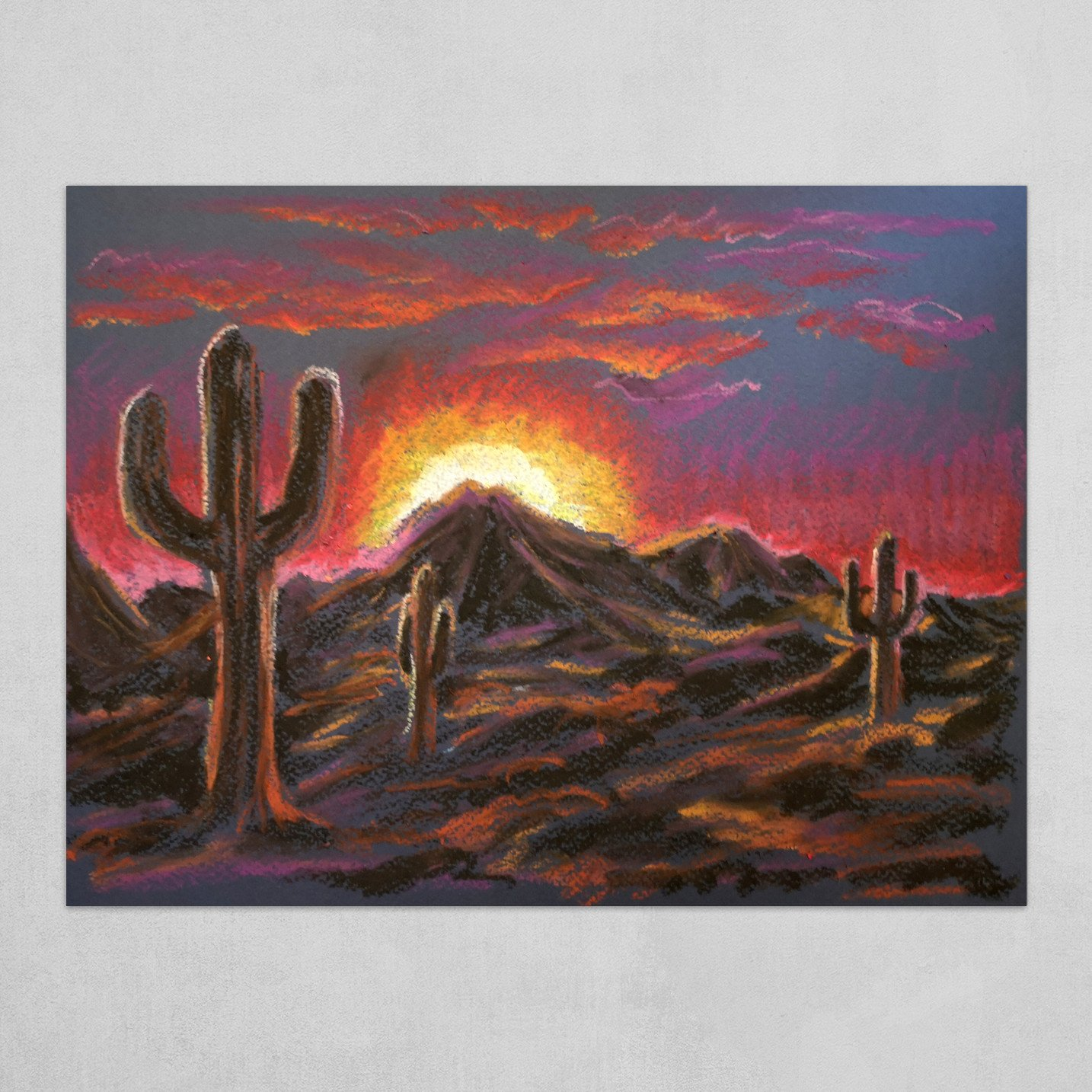 IT Came from the Desert - Pastel